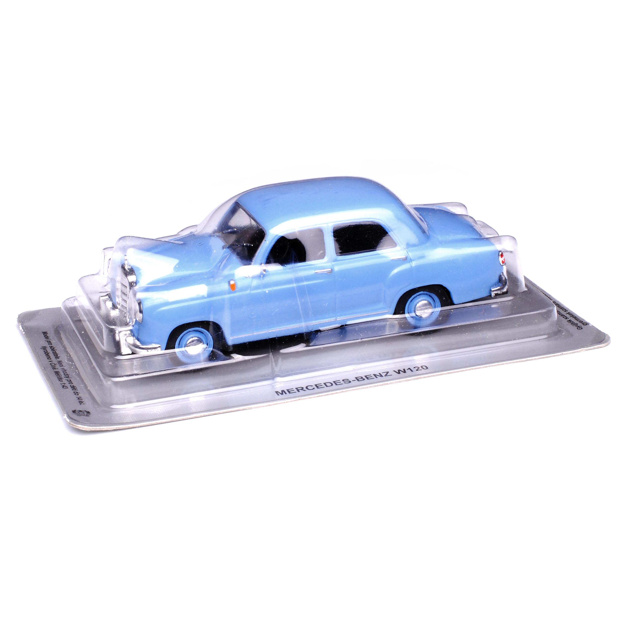 Mercedes-Benz 180 W120 Kleiner Ponton Limousine Blau 1953-1962 1//43 Modellcars..