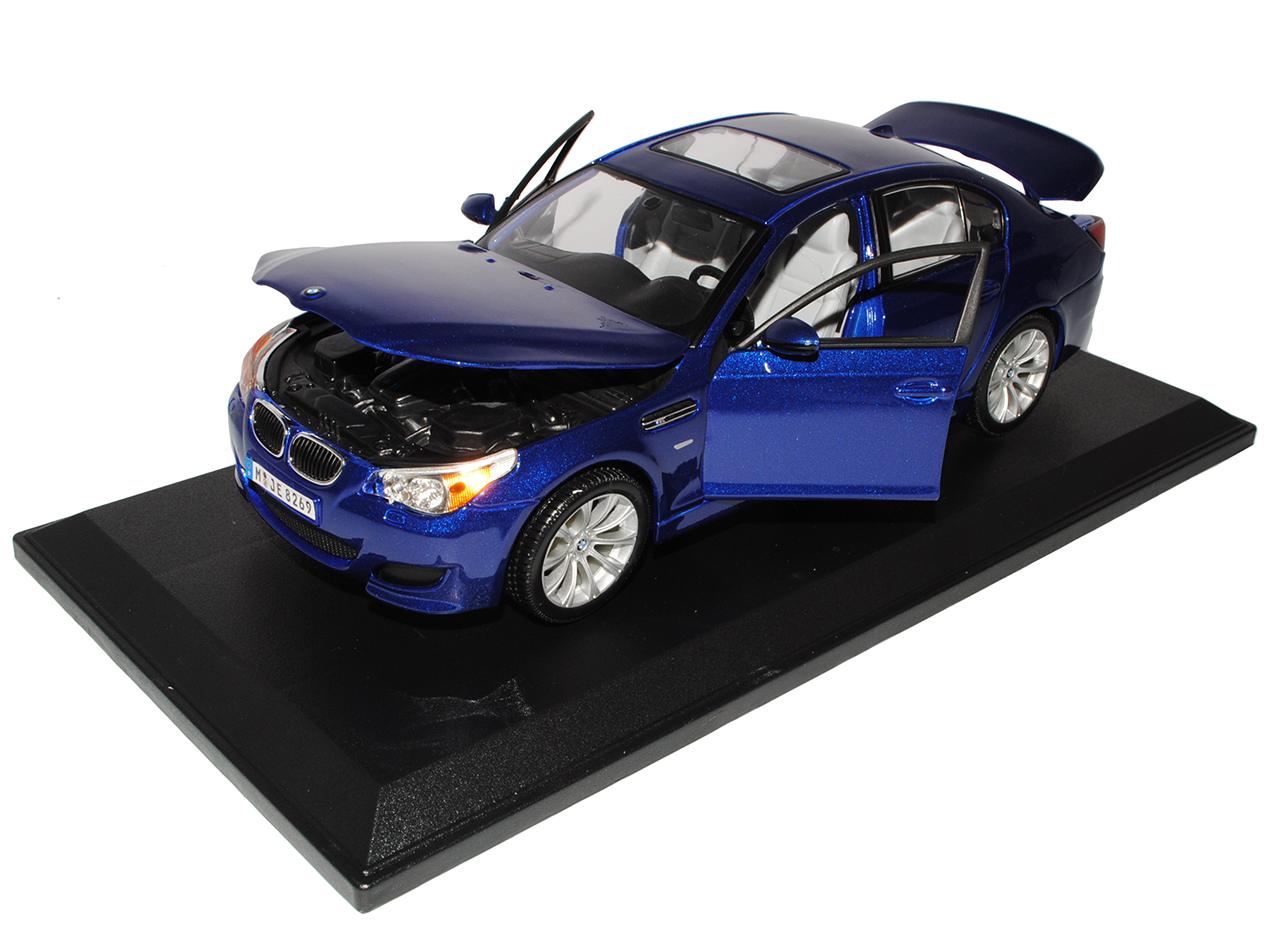 BMW 5er m5 m5 m5 e60 berline bleu 2003-2010 1 18 Maisto modèle de voiture avec ou sans... e82272