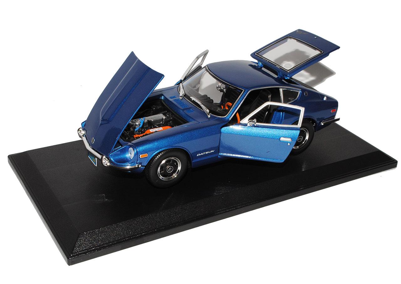 DATSUN Nissan 240z Fairlady Fairlady Fairlady Z Coupe Blu 1969-1978 1/18 Maisto Modello Auto con  809995