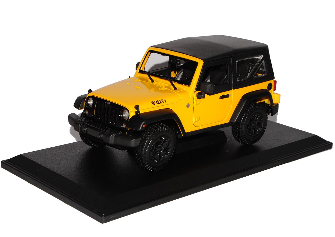 Jeep Wrangler 2014 Willis Weiss Cabrio JK Ab 2007 1//18 Maisto Modell Auto mit ..