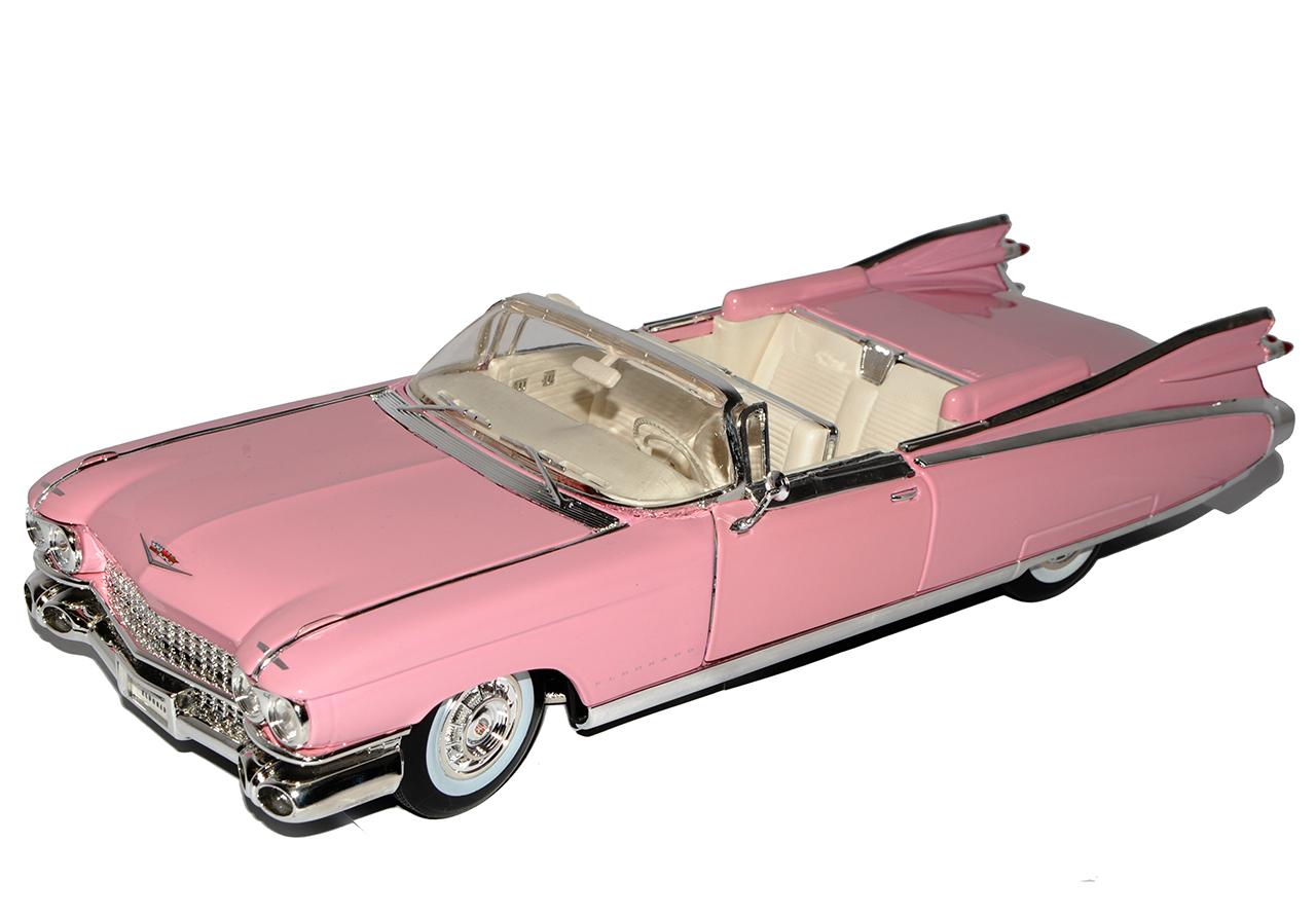 cadillac eldorado biarritz cabrio pink 1959 1 18 maisto modell auto mit oder o ebay. Black Bedroom Furniture Sets. Home Design Ideas