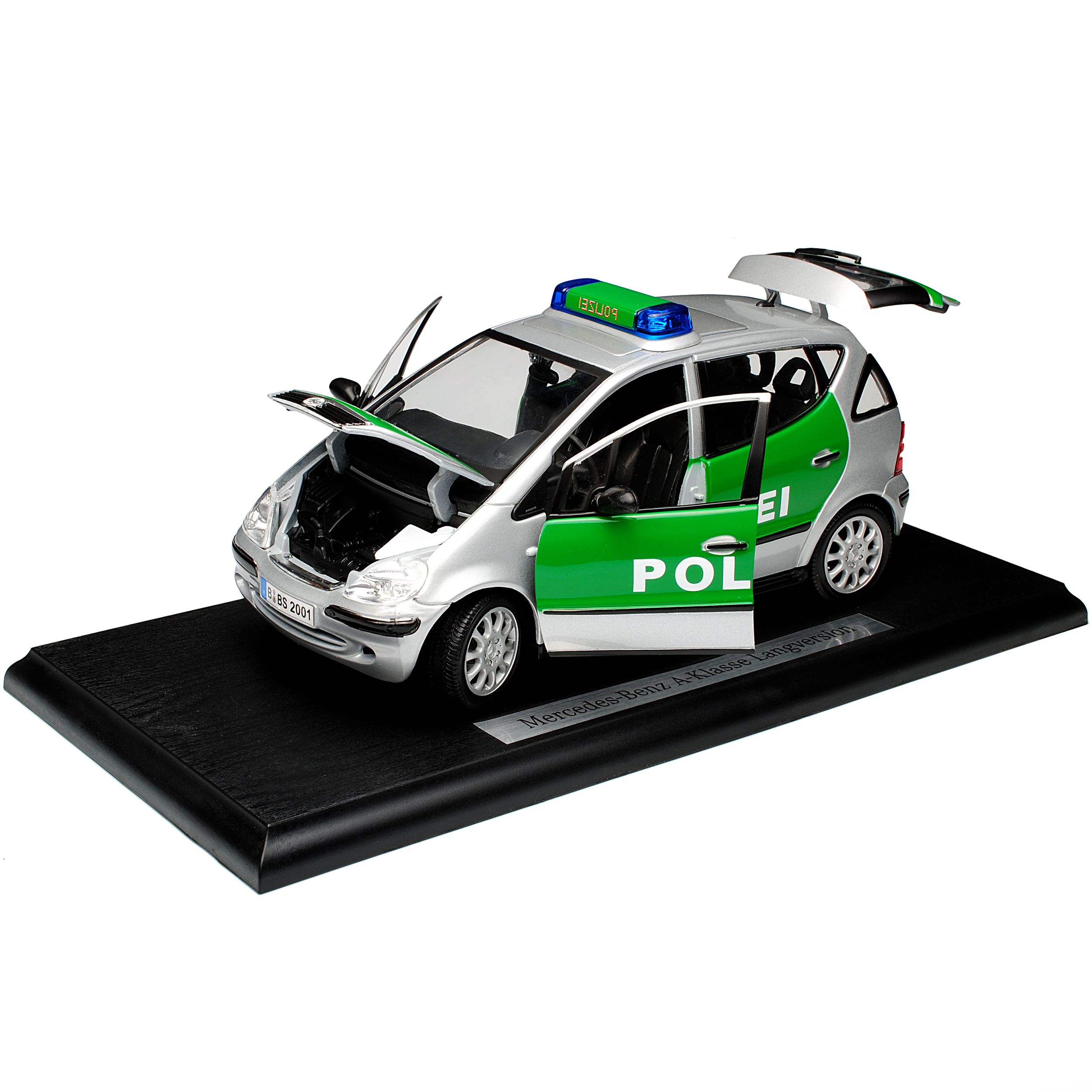 Mercedes-Benz a-Classe w168 5 porte argent police 1997-2004 1 1 1 18 Maisto MODEL... 48c513