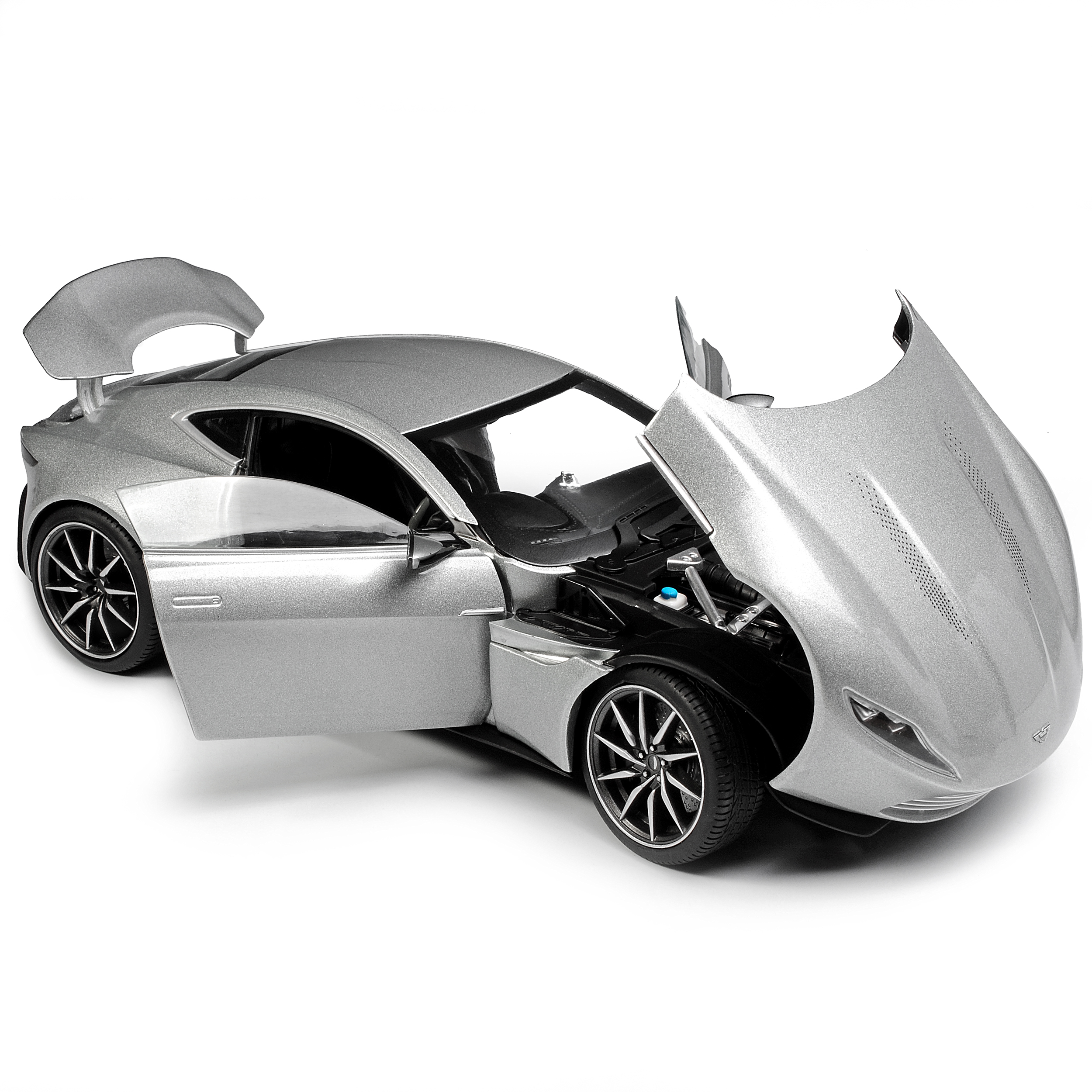 aston martin db10 coupe silber james bond spectre ab 2014. Black Bedroom Furniture Sets. Home Design Ideas