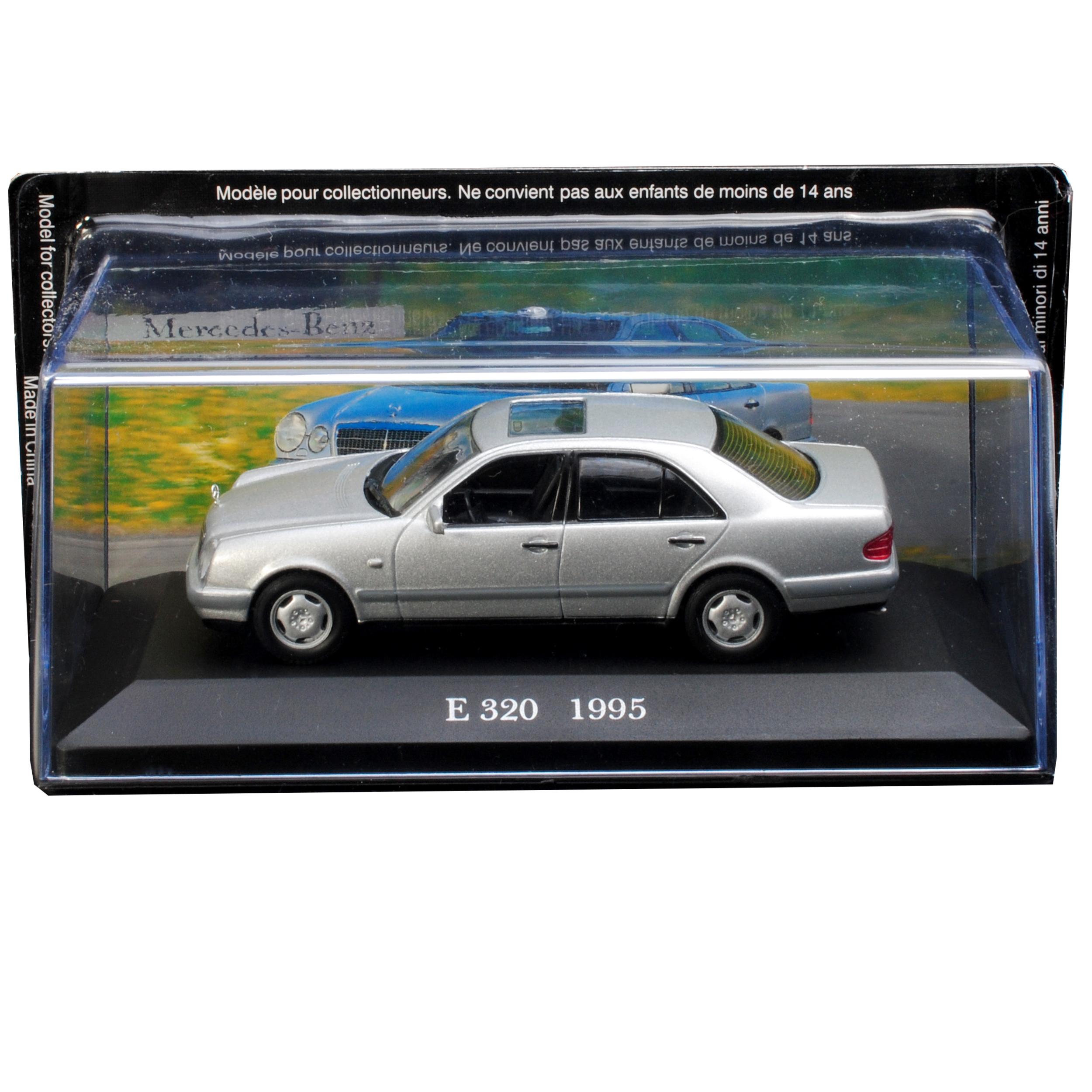 Mercedes-Benz E-Klasse W210 E320 Limousine Silber 1995
