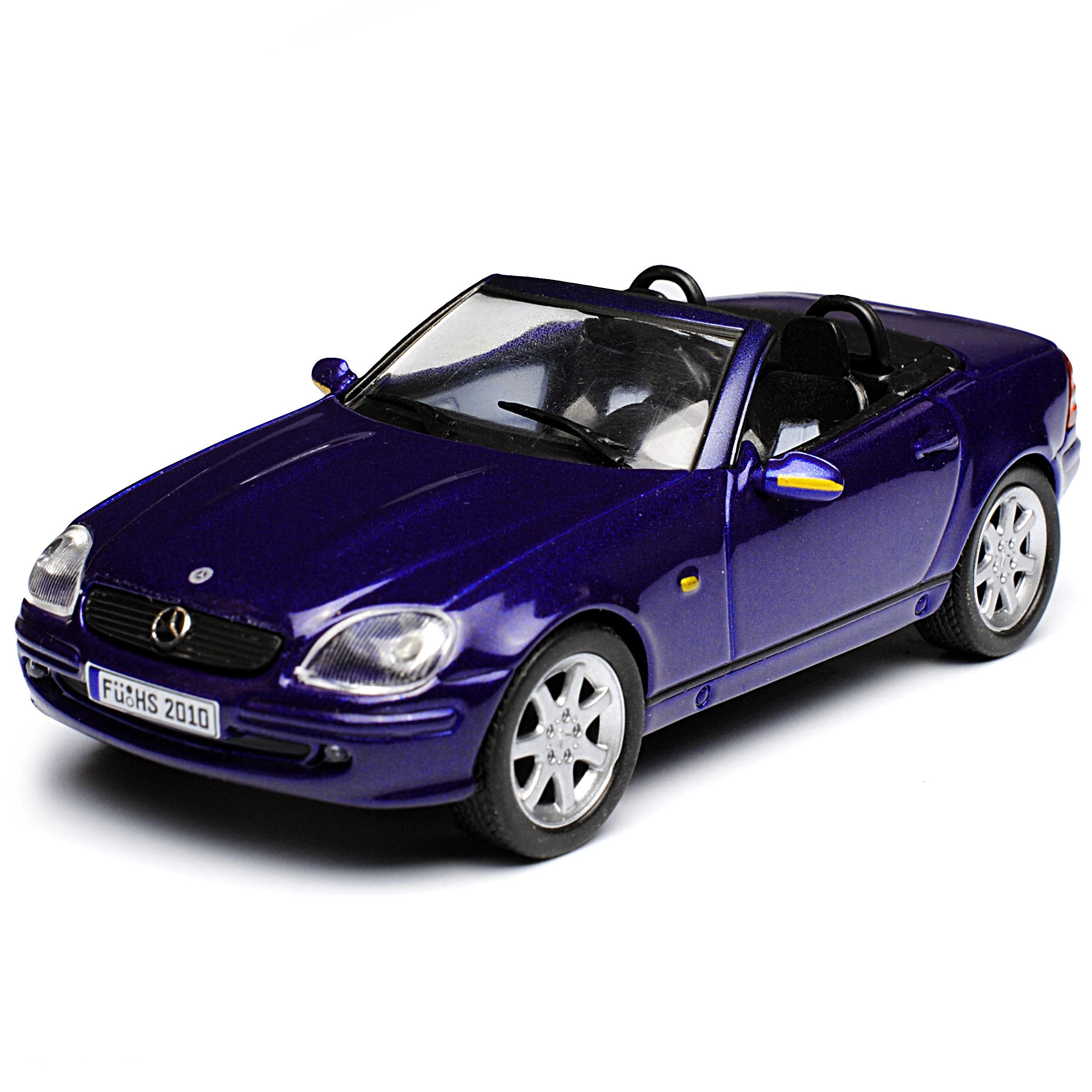 mercedes benz slk r170 cabrio blau 1 generation 1996 2004. Black Bedroom Furniture Sets. Home Design Ideas