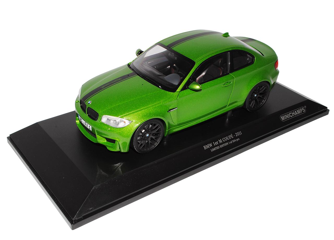BMW 1er 1M M M M E82 Coupe Java green 2007-2013 1 18 Minichamps Modell Auto mit ode.. f8b61d