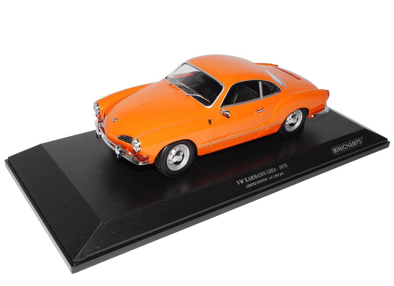VW VW VW Volkswagen Karmann Ghia Coupe orange 1970 1 18 Minichamps Modell Auto mit o.. 792b50