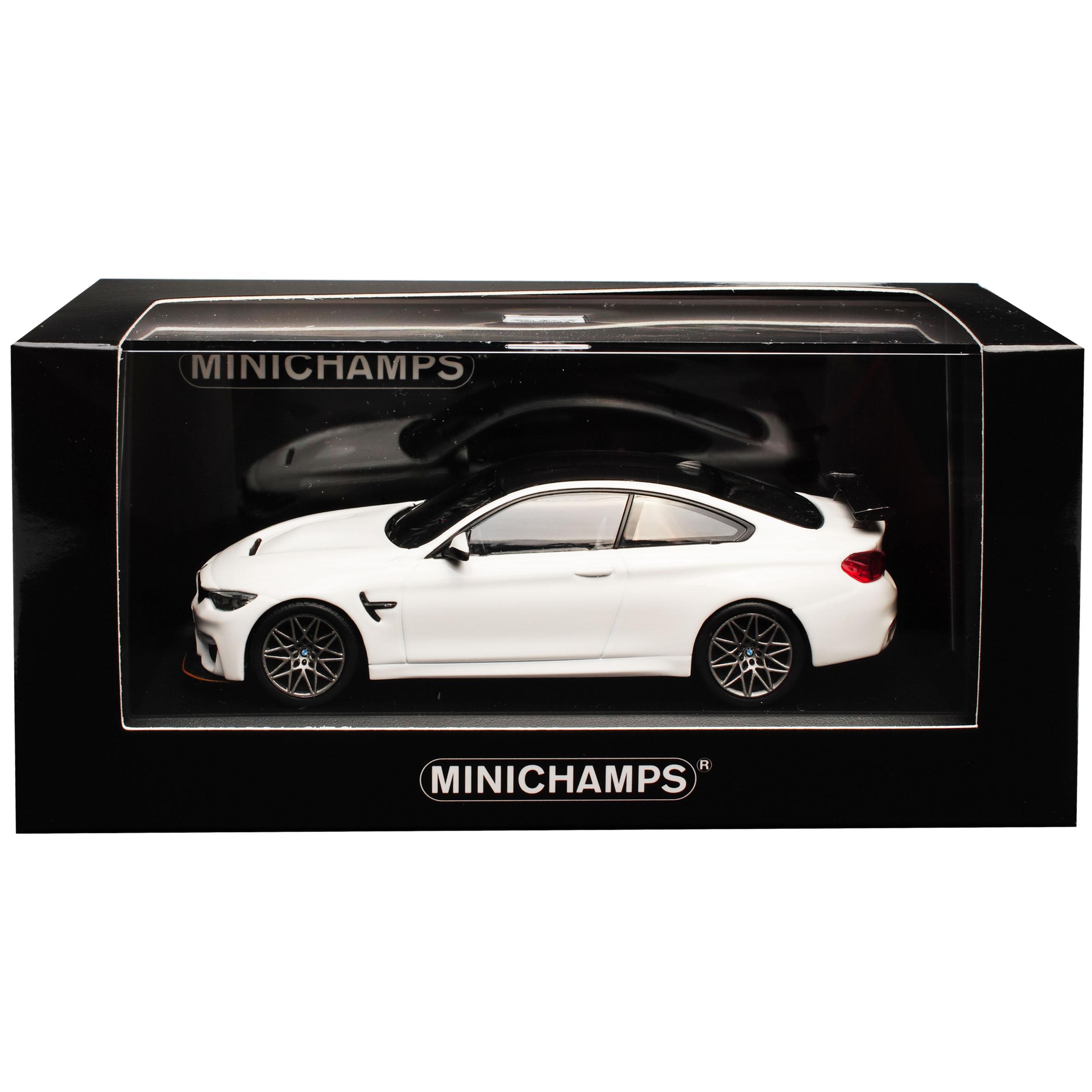 Bmw 4er m4 GTS f82 Coupe Weiss a a a partir de 2014 limitado 336 unidades 1 43 Minichamps mod.. 9829d1