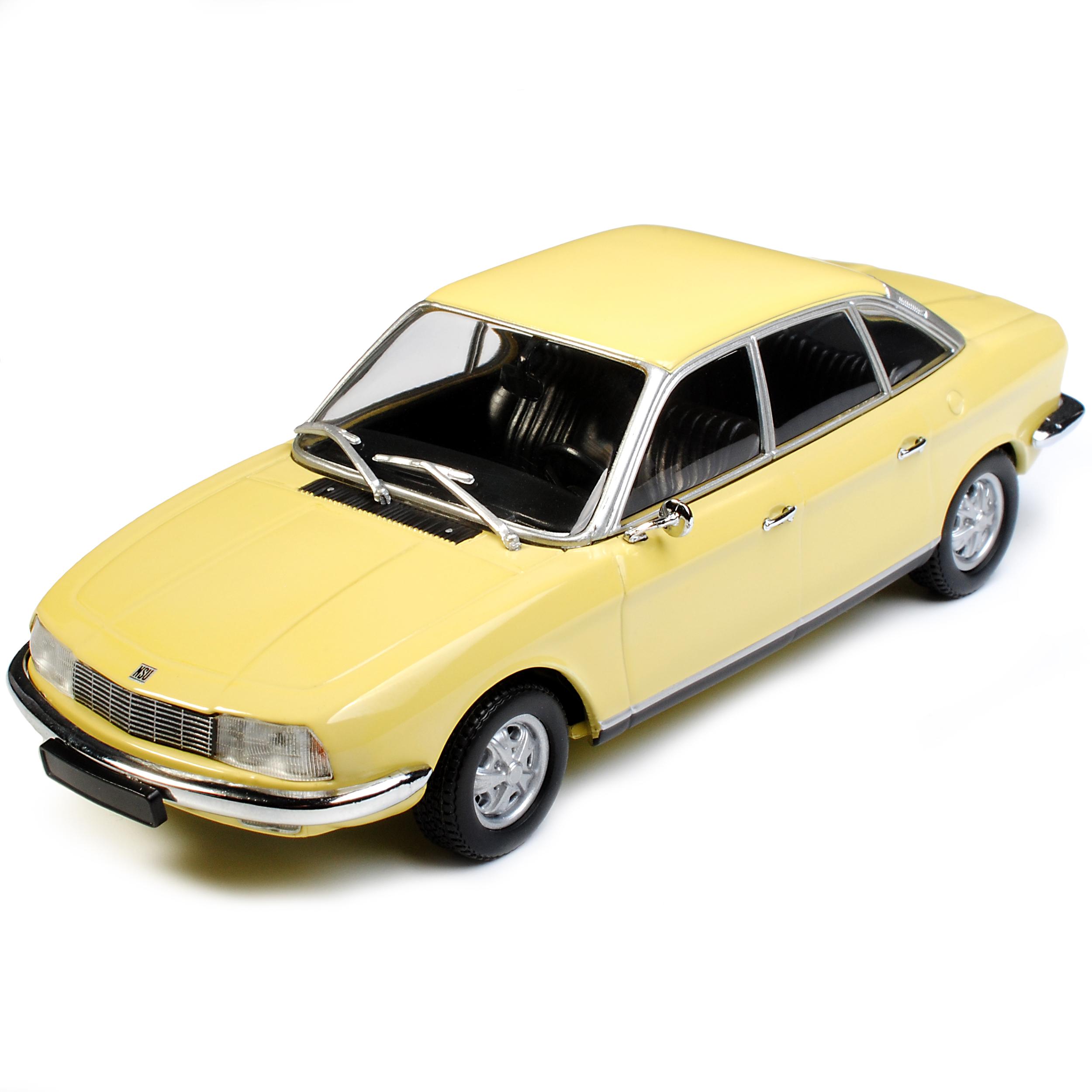 NSU RO80 Limousine Cgoldna yellow 1967-1977 1967-1977 1967-1977 1 43 Minichamps Maxichamps Modell Aut.. db8b86