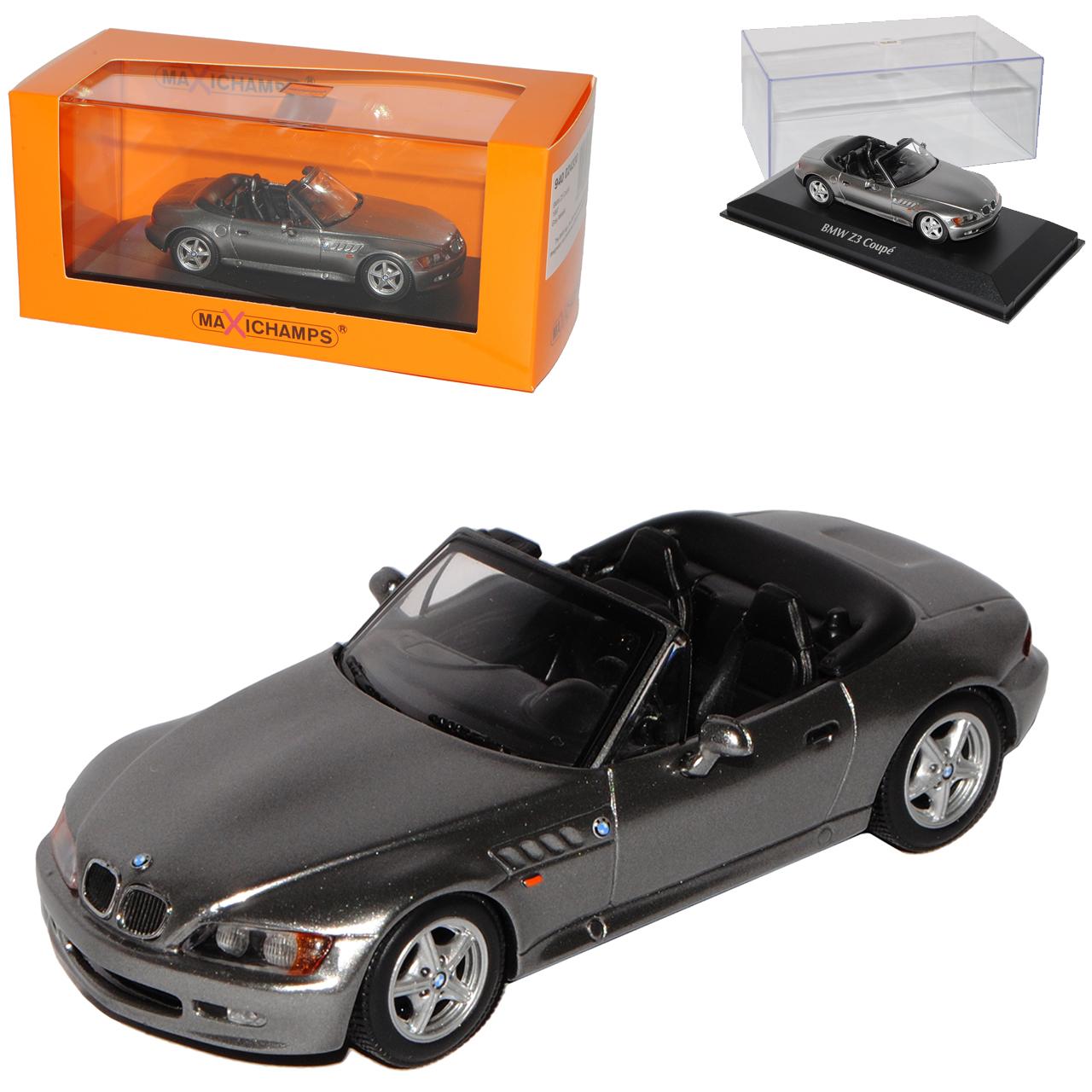 BMW z3 e36 7 ROADSTER CONGrünIBLE grau 1995-2002 1 43 Minichamps Maxi Champs Model...