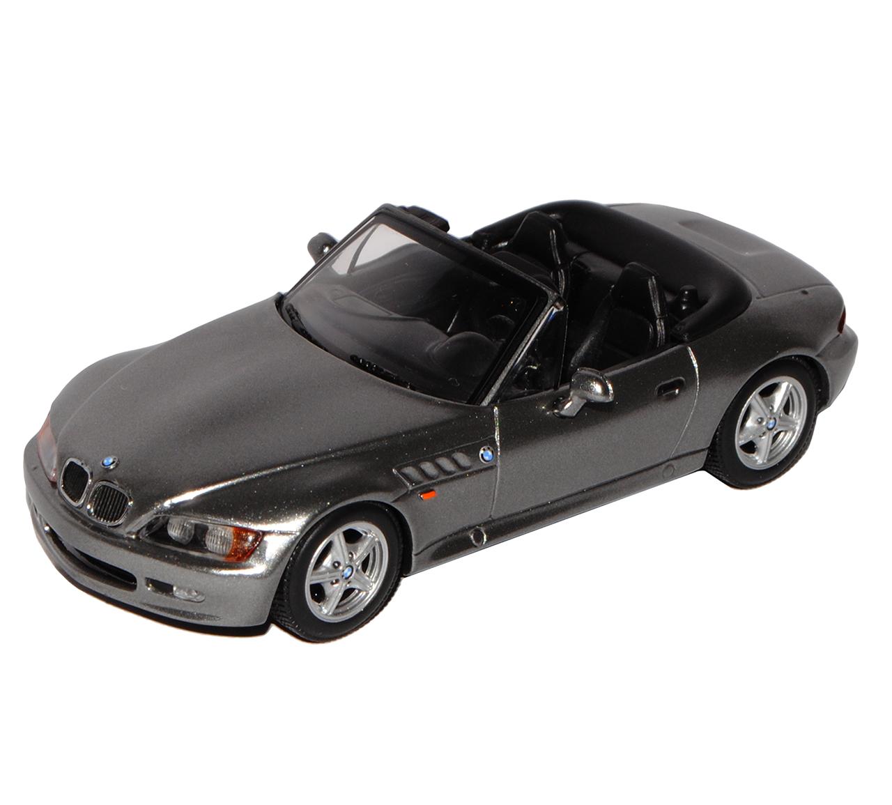 BMW E36 7 7 7 Z3 roadster converdeible 1995-2002 gris 1 43 de Minichamps Maxichamps modelo... 60526d
