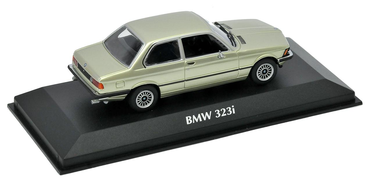 Serie Serie Serie 3 de BMW E21 323i Coupe verde metálico 1975-1983 1 43 Minichamps Maxichamps moda... 8122c5