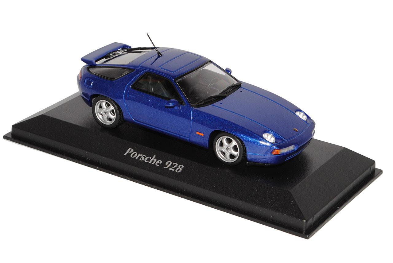 Porsche 928 928 928 GTS Coupe azul metálico 1991 1977-1995 1 43 Minichamps Maxichamps... 20d49b