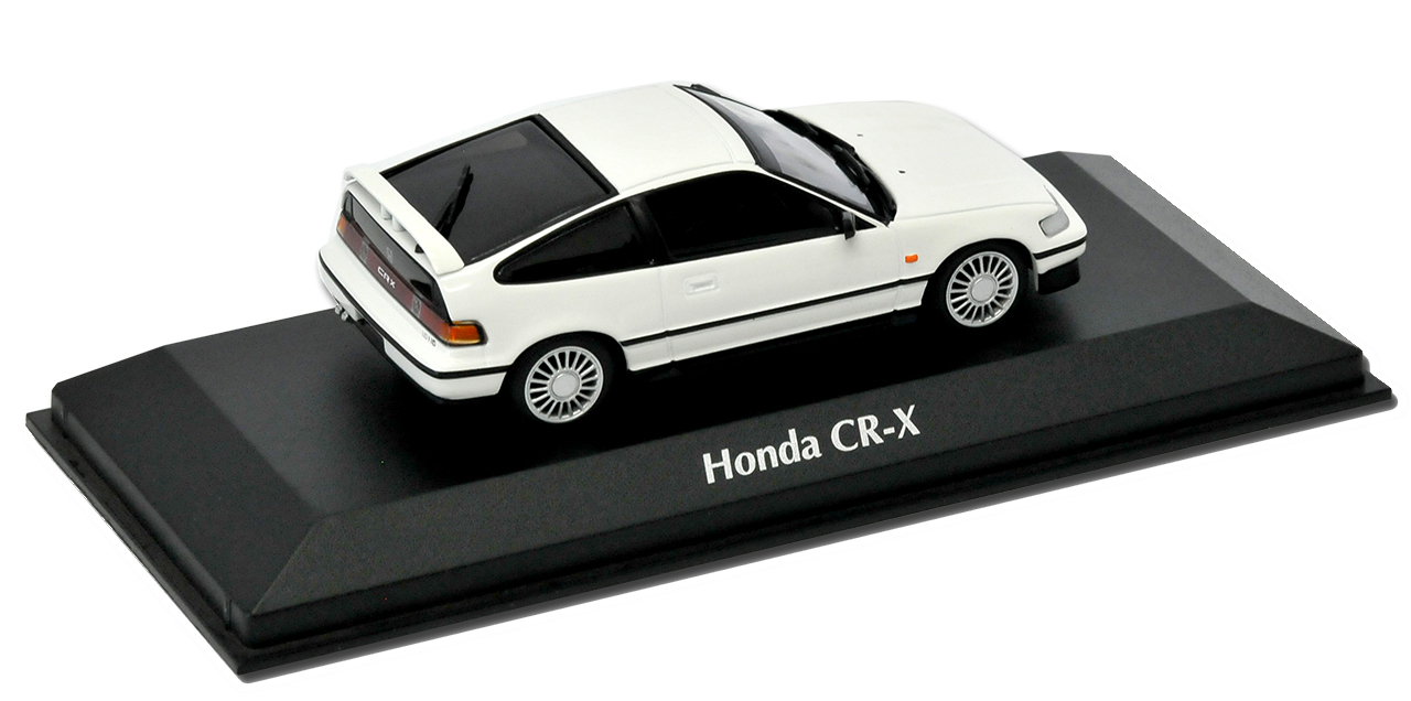 Honda CR-X ED9 Coupe Coupe Coupe Weiss 2. Generation 1987-1991 1 43 Minichamps Modell Auto.. 218480