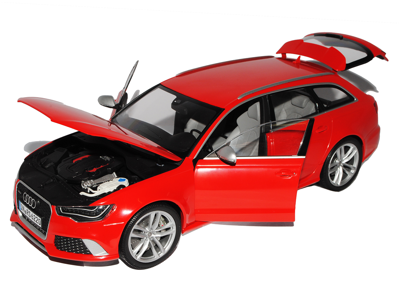 audi a6 rs6 c7 avant kombi misano rot ab 2010 1 18 minichamps modell auto mit ebay. Black Bedroom Furniture Sets. Home Design Ideas