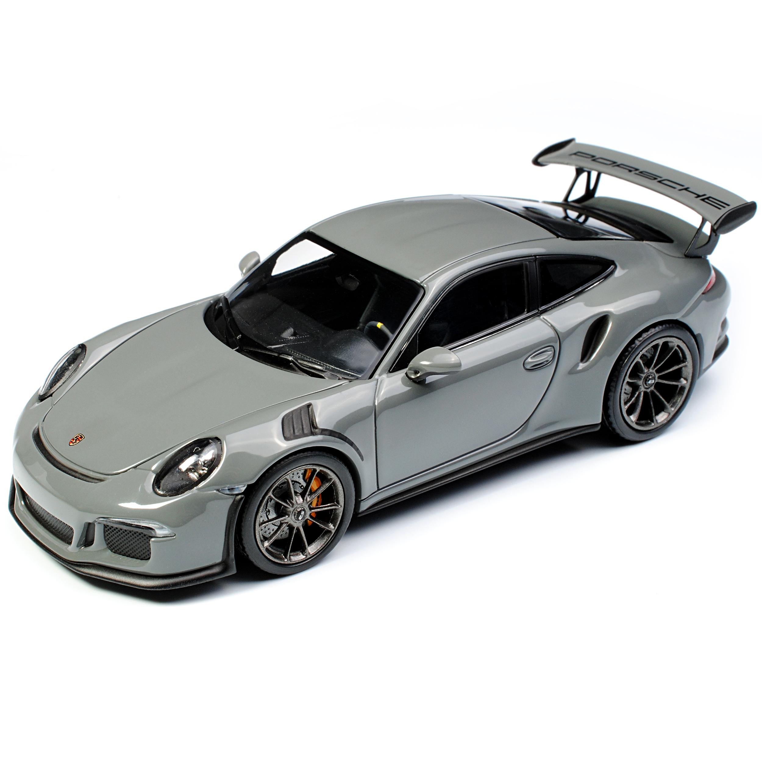 Minichamps Porsche 911 991 II GT3 RS Schwarz Modell ab 2012 Ab Facelift 2015 1//43 Modell Auto mit individiuellem Wunschkennzeichen
