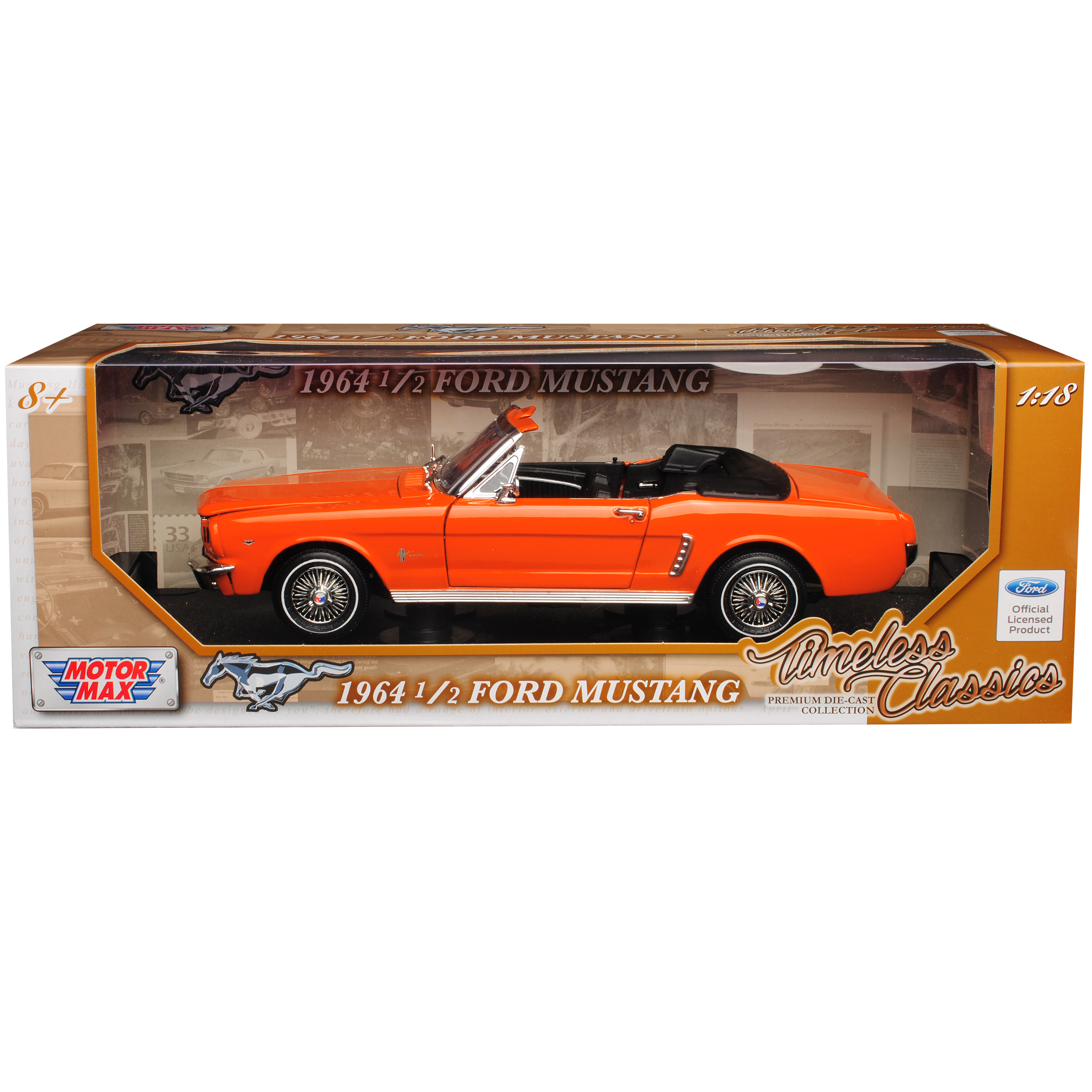 Ford Mustang Mustang Mustang I 1. Generation 1 2 Cabrio orange 1. Modelljahr 1964 Generation 1.. d37a01