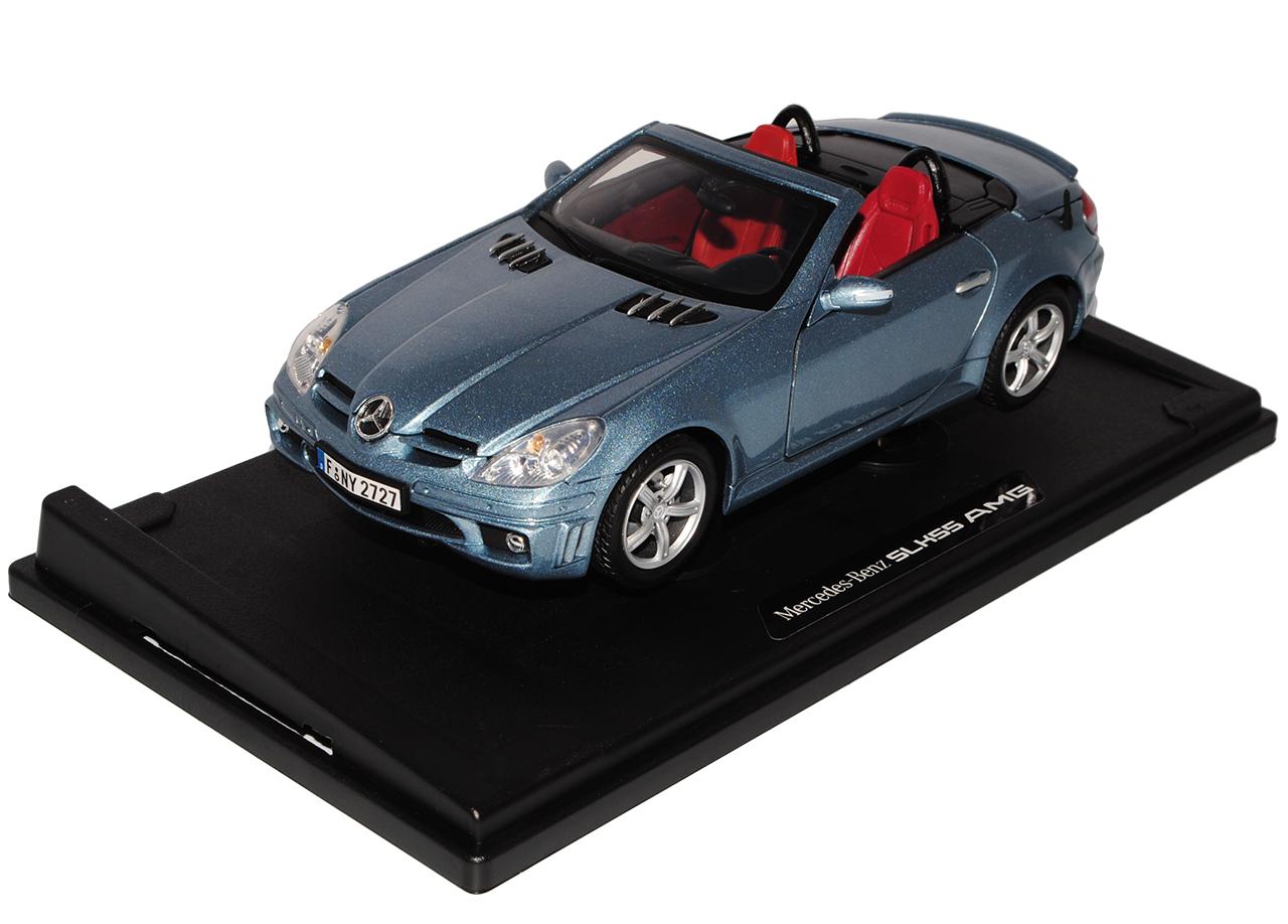 Mercedes-Benz SLK R171 R171 R171 2004-2011 55 AMG Grau Blau Öffnendes Dach Coupe Cabrio ..    Nutzen Sie Materialien voll aus  1049ad