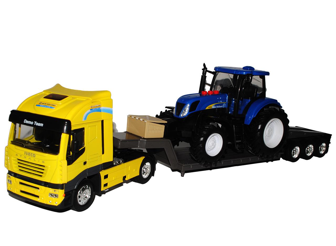 mit sound traktor new holland t7070 b o 1 24 mit iveco. Black Bedroom Furniture Sets. Home Design Ideas