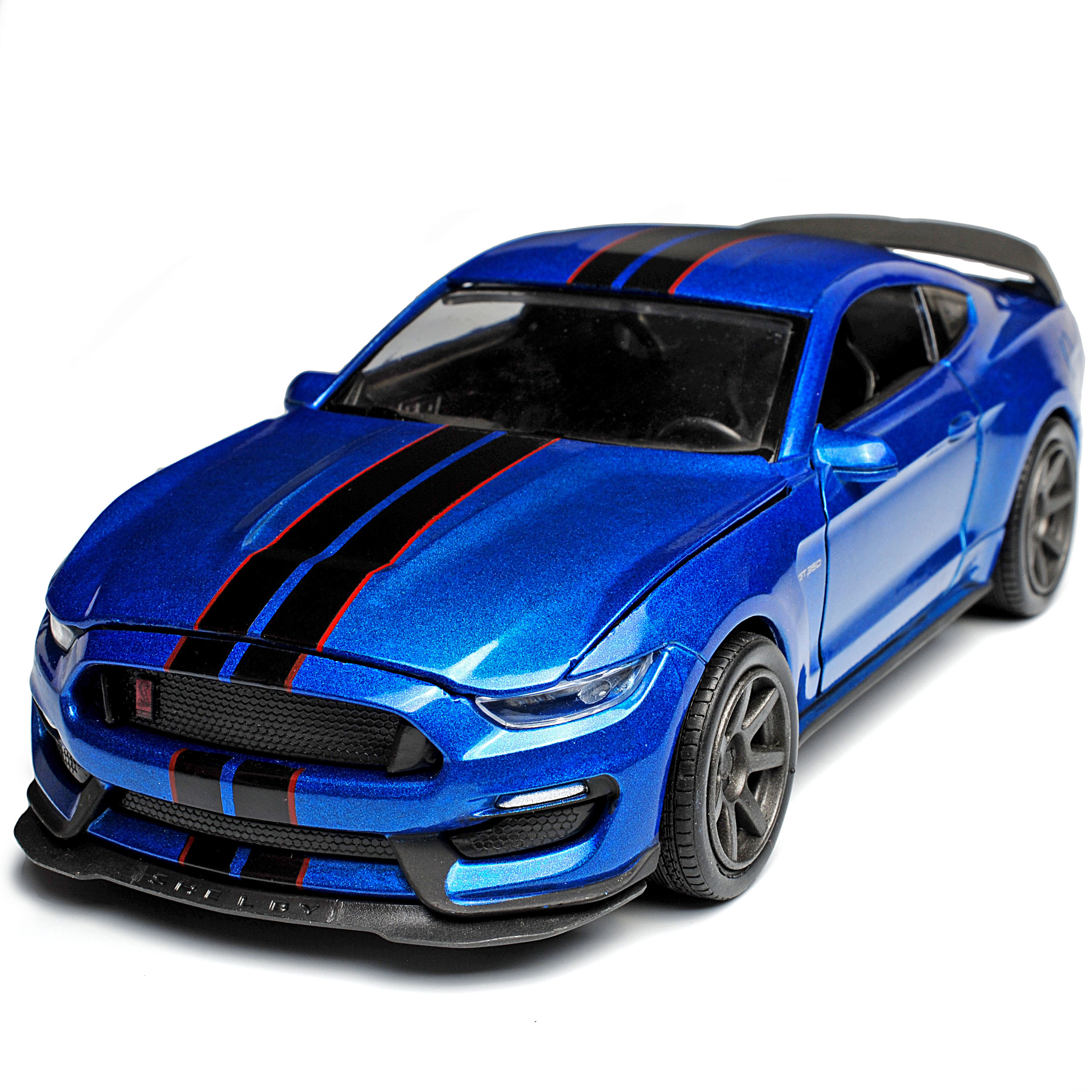Shelby Gt Coupe: Ford Shelby Mustang GT350R VI Coupe Blau Mit Schwarzen