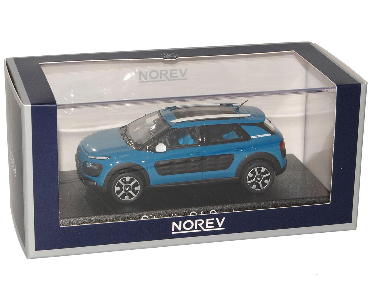 Citroen c4 Cactus baltic baltic baltic bleu à partir de 2014 1 43 Norev modèle voiture avec ou sans ind... abefb3