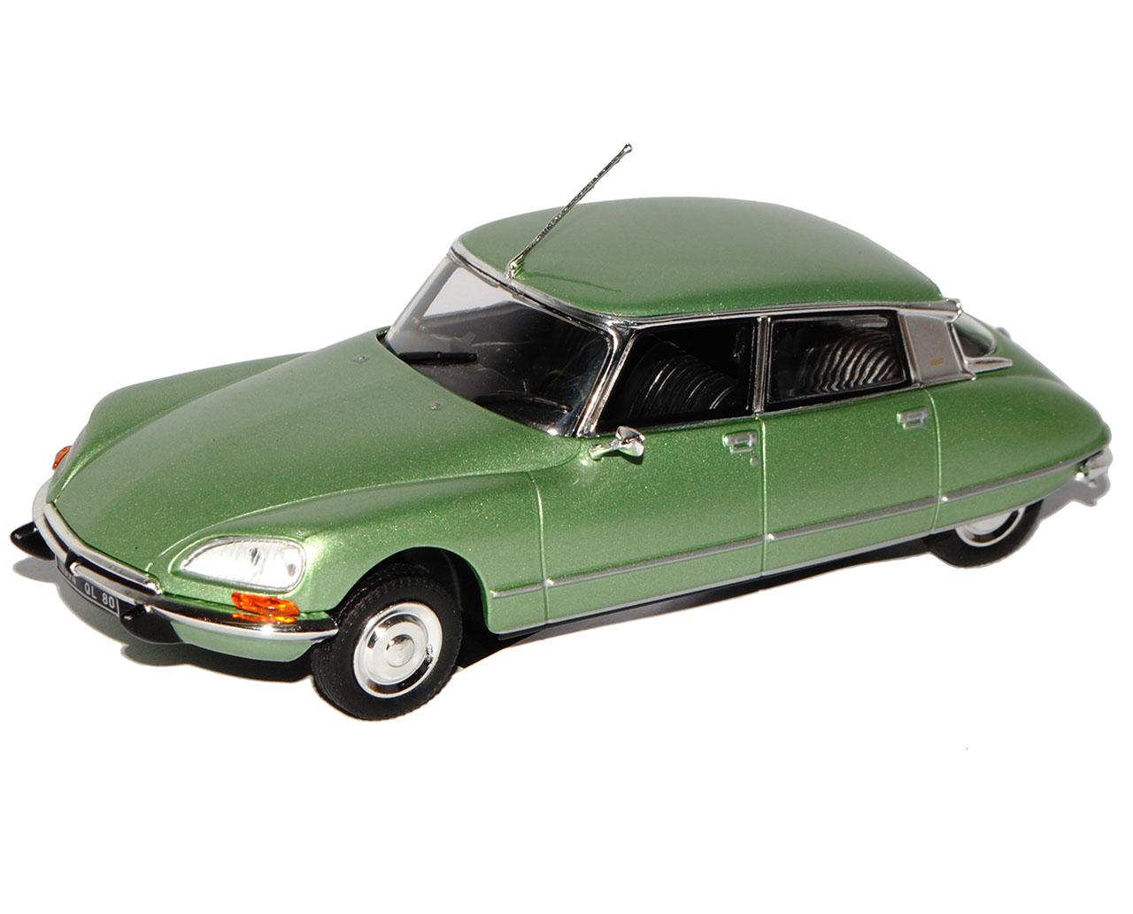 Citroen DS23 Pallas Limousine Limousine Limousine Grün Metallic 1972-1975 1 43 Norev Modell Auto m..  | Gutes Design  98adac