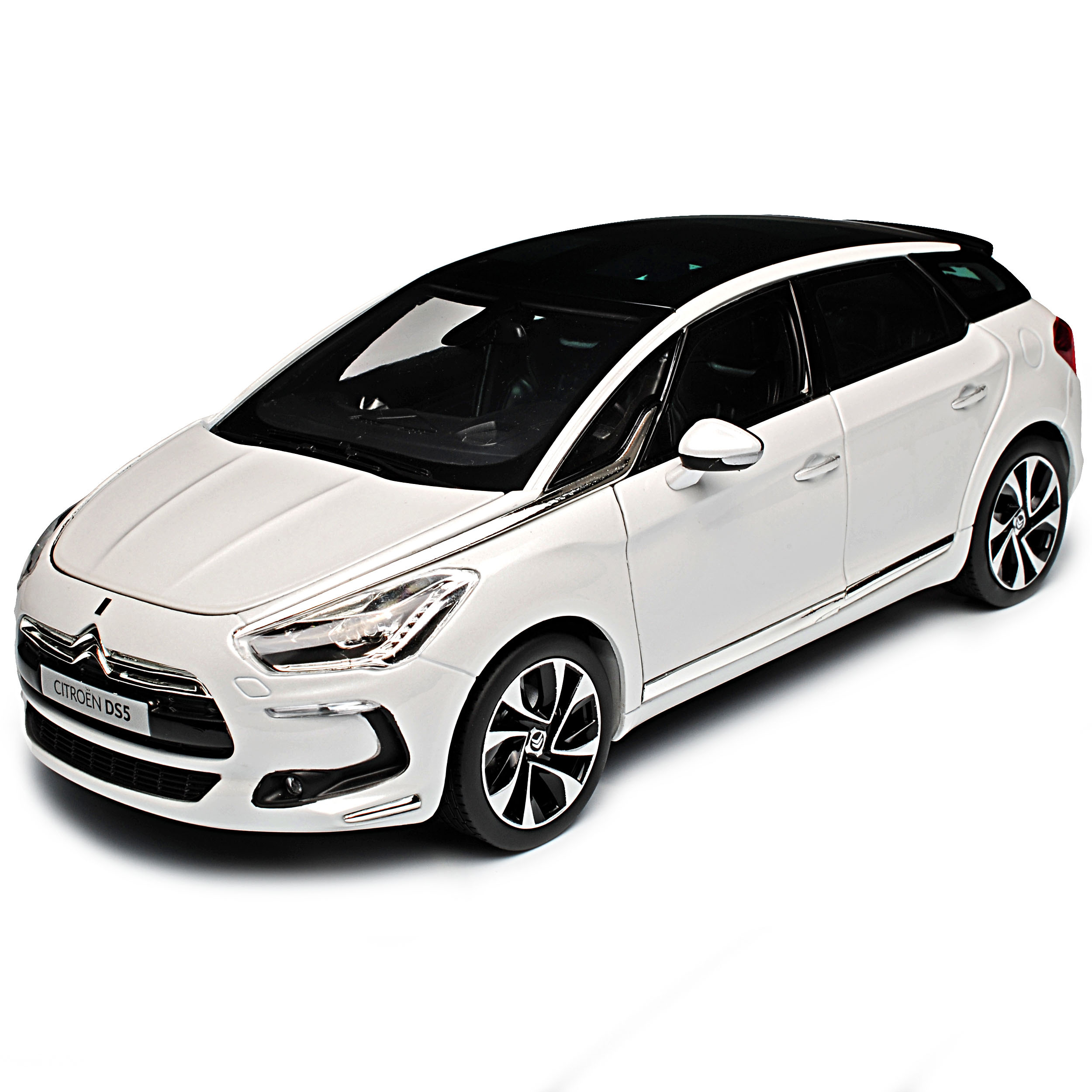 Citroen DS5 Pearl Weiss 2011-2018 1 1 1 18 Norev Modell Auto mit oder ohne individ.. a0ec16