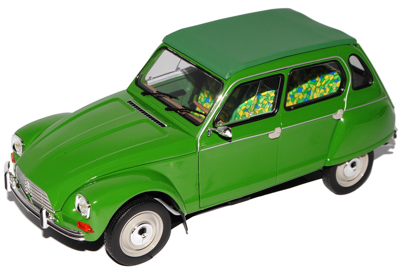 Citroen Dyane 6 green 1967-1983 1 18 Norev Modell Modell Modell Auto mit oder ohne individiue.. 8016b8
