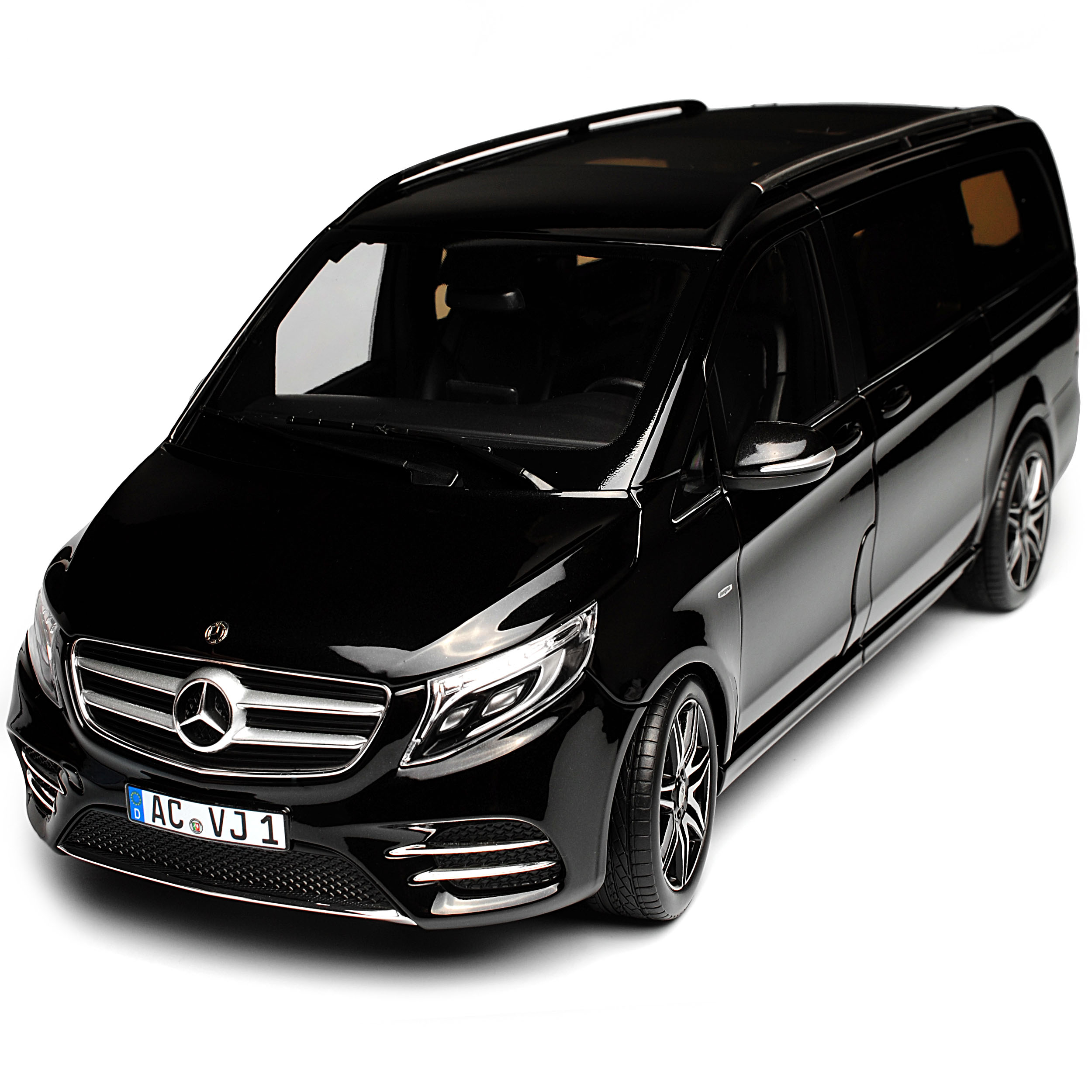 mercedes benz v klasse amg line v447 schwarz 3 generation. Black Bedroom Furniture Sets. Home Design Ideas
