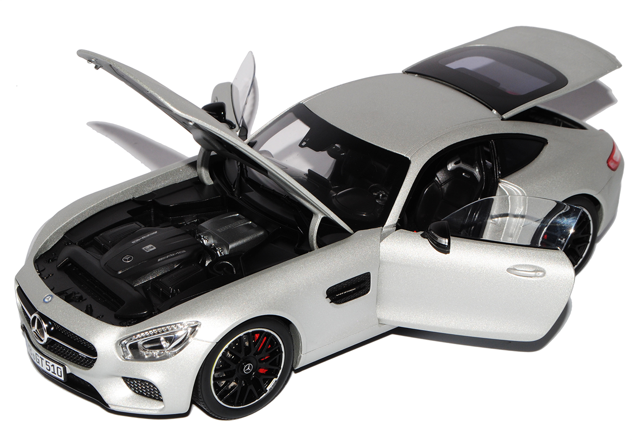 Mercedes-Benz AMG GT S Coupe Silber Ab 2014 1 1 1 18 Norev Modell Auto mit oder oh..  | Passend In Der Farbe  d5fc99