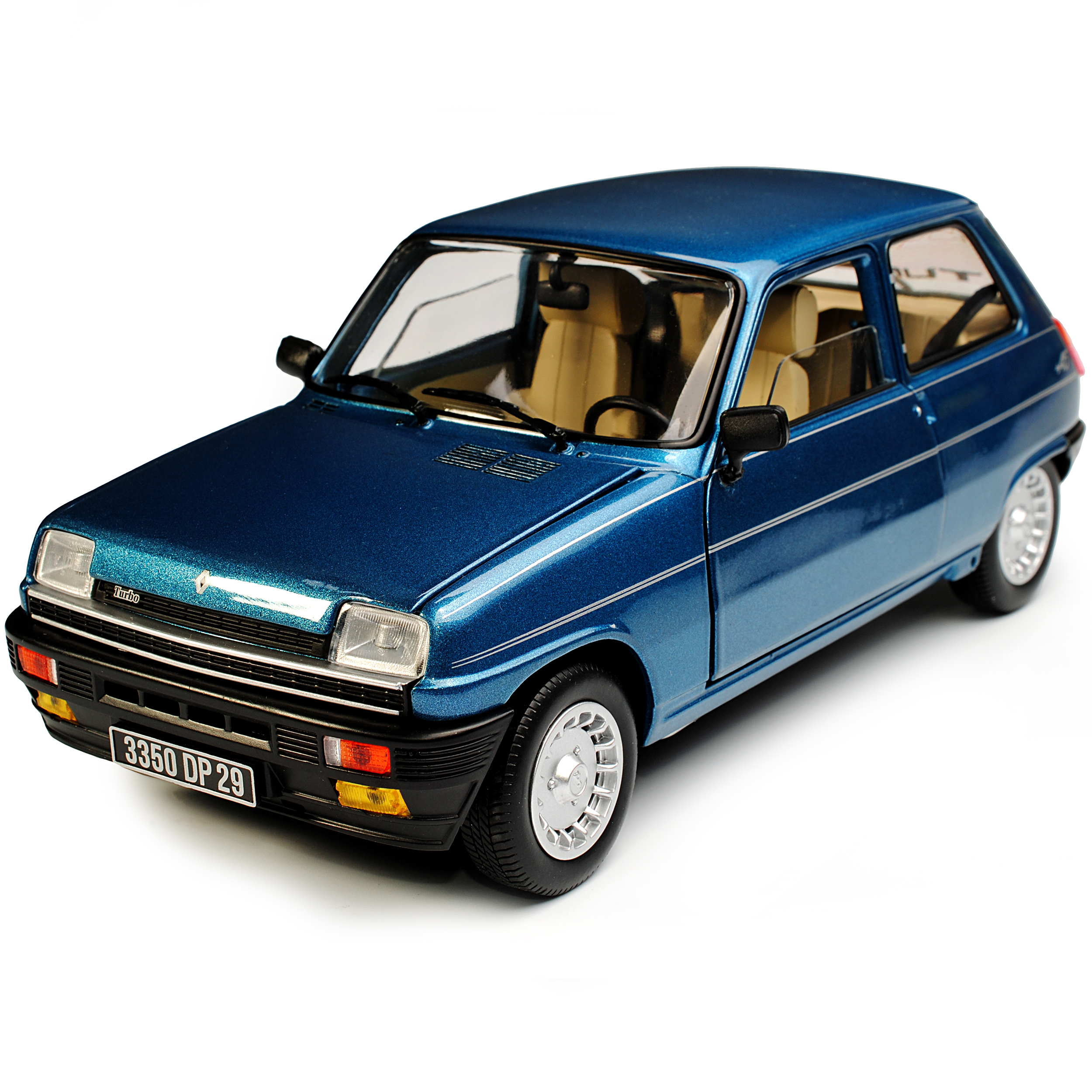 Renault 5 Turbo: Renault 5 R5 Alpine Turbo Blau 1. Generation 1972-1984 1