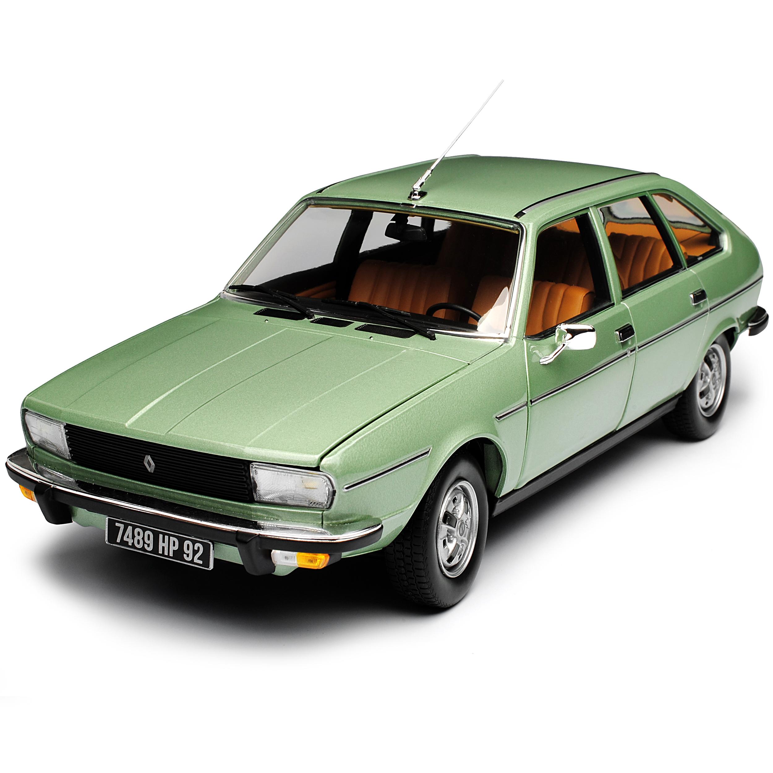 Renault 20 TS Limousine Grün Metallic Metallic Metallic 1975-1984 1 18 Norev Modell Auto mit ode.. 42ba89