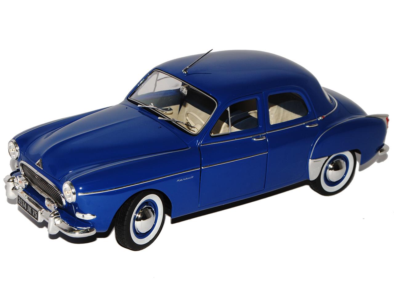 Azul de sedán de Renault Frégate Frégate Frégate 1951-1960 1 18 Norev modelos coches con o sin... 4cf44c