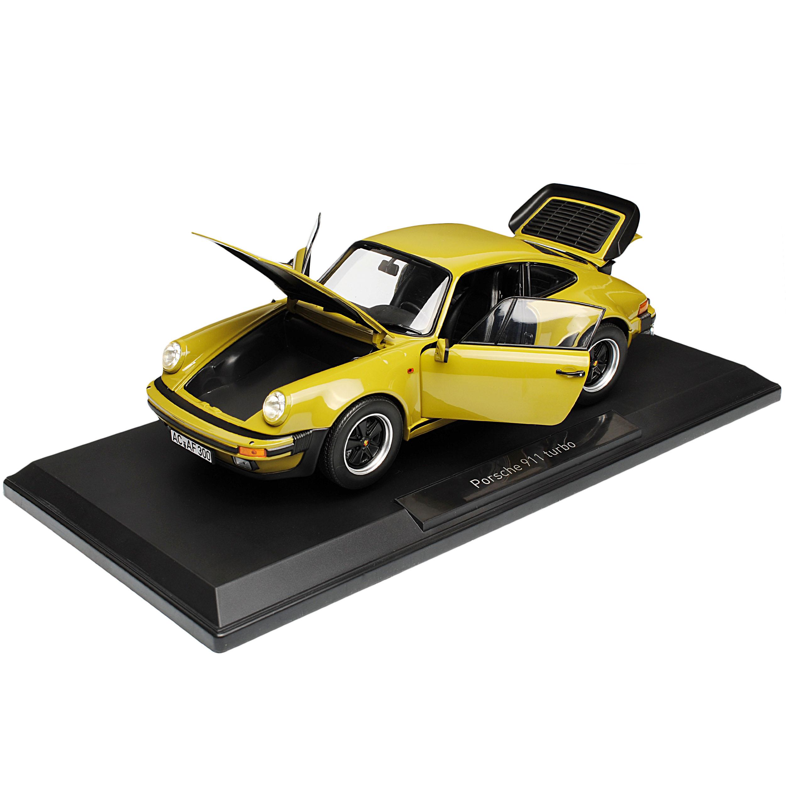 PORSCHE 911 930 Turbo 3.3i G-modello COUPE COUPE COUPE Olive verde 1973-1989 1 18 NOREV moda... 525dc3