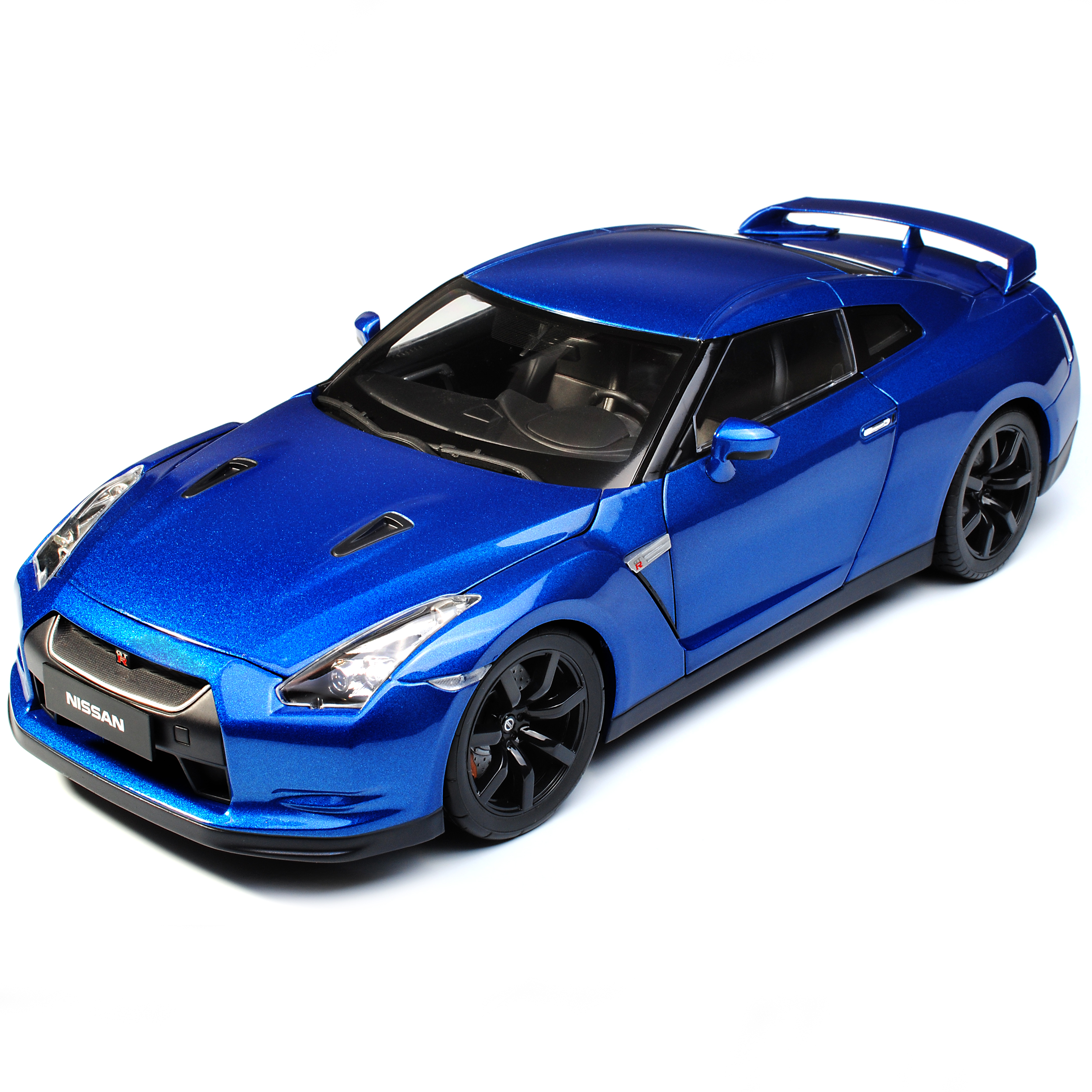 Nissan Skyline GT-R R35 Coupe Coupe Coupe blue Ab 2007 1 18 Norev Modell Auto mit oder ohn.. 1e63a1