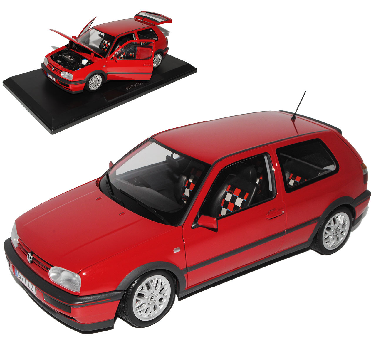 vw volkswagen golf iii gti rot 3 t rer 20 jahre edition. Black Bedroom Furniture Sets. Home Design Ideas