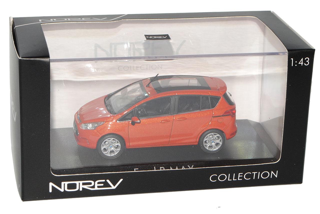 Ford-B-Max-Ab-2012-Rot-Metallic-1-43-Norev-Modell-Auto-mit-oder-ohne-individiu miniatuur 10