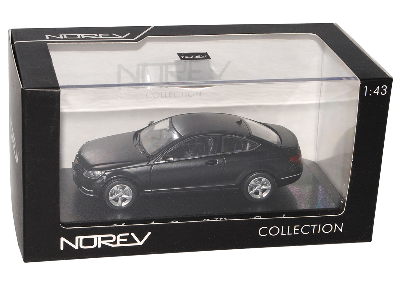 Mercedes C204 C-Klasse Coupe weiss Modellauto Norev 1:43