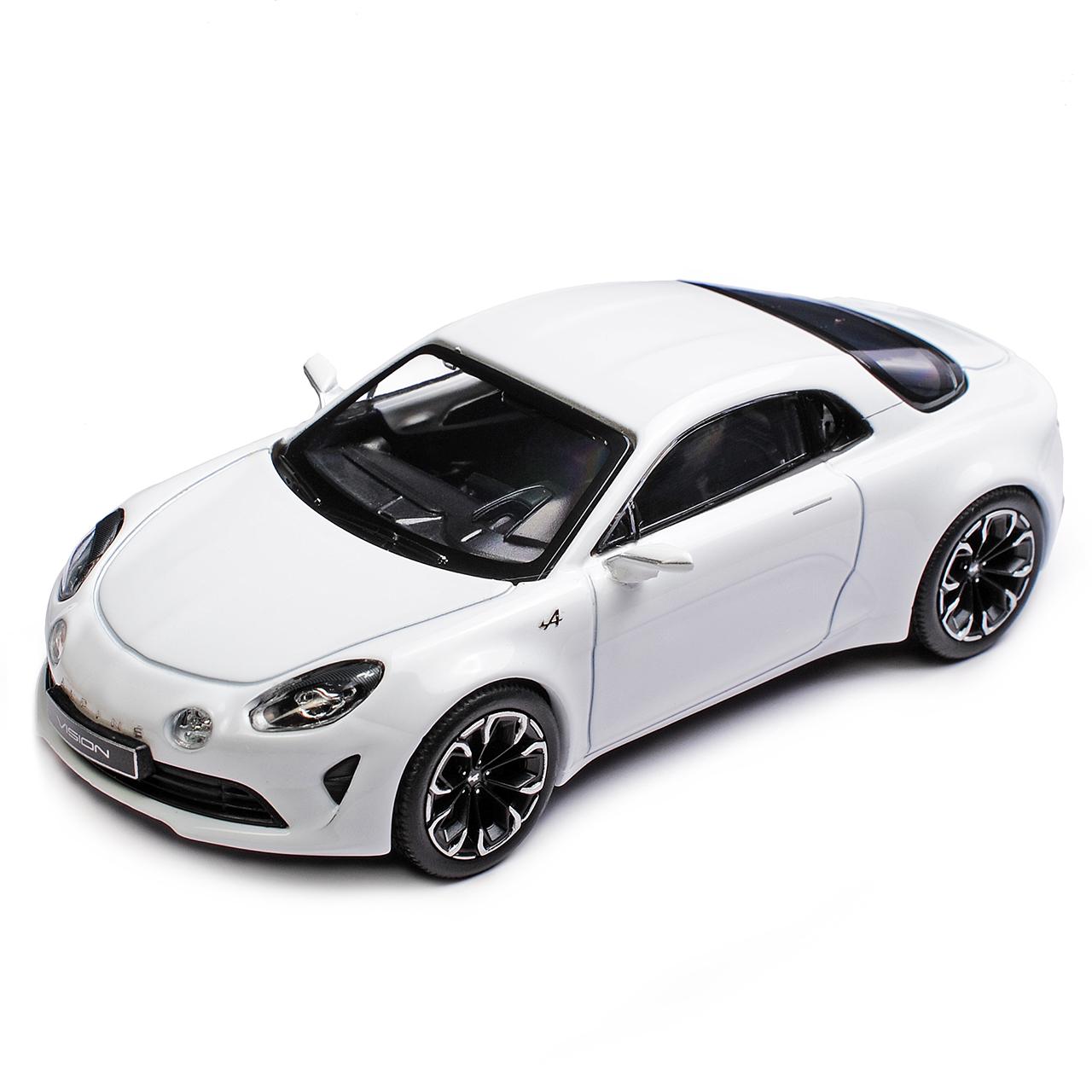 Doppelset Renault Alpine Vision Concept Weiss und Alpine A110 A110 A110 limitiert 1 von .. 8acd0a