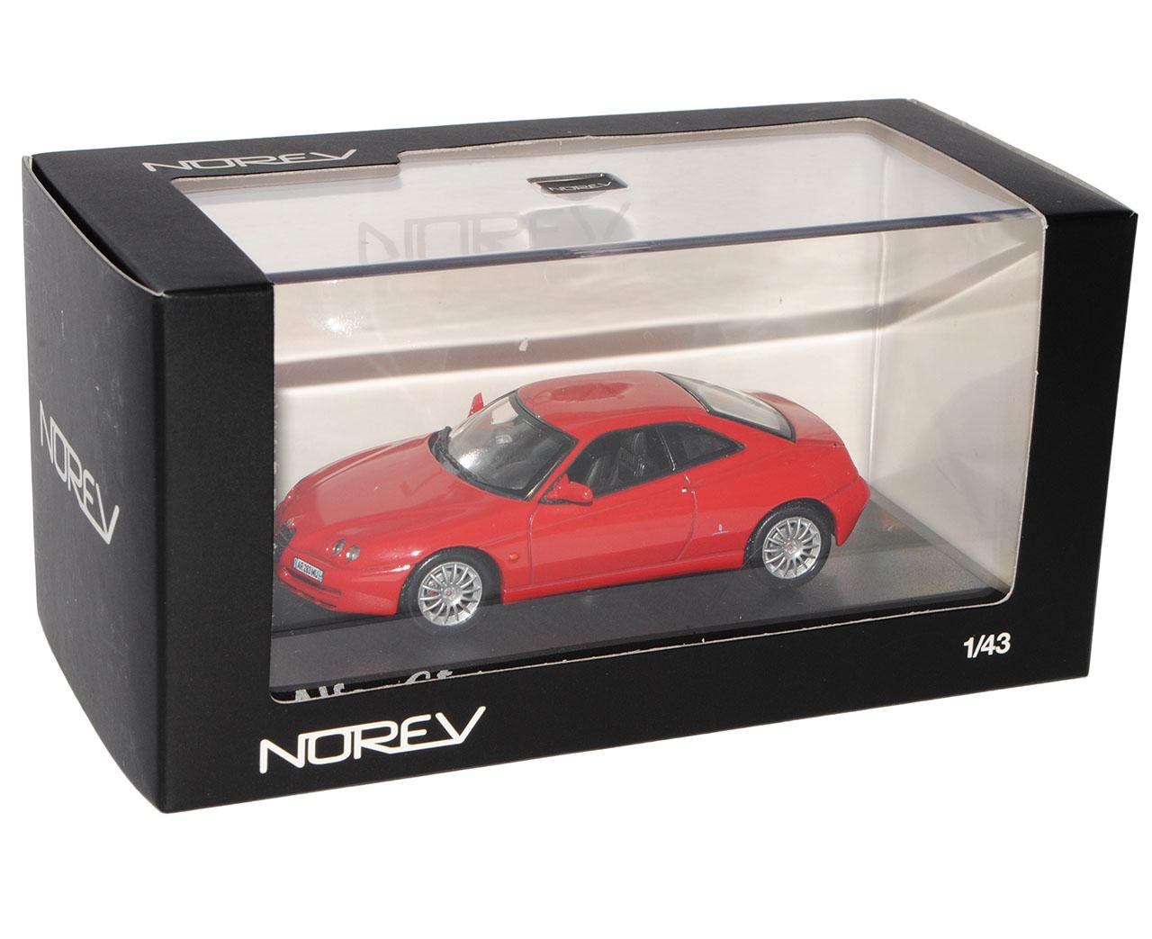 Alfa Romeo GTV GTV GTV 916 Coupe rojo 1994-2005 1 43 Norev modelos coches con o sin en... efa53b