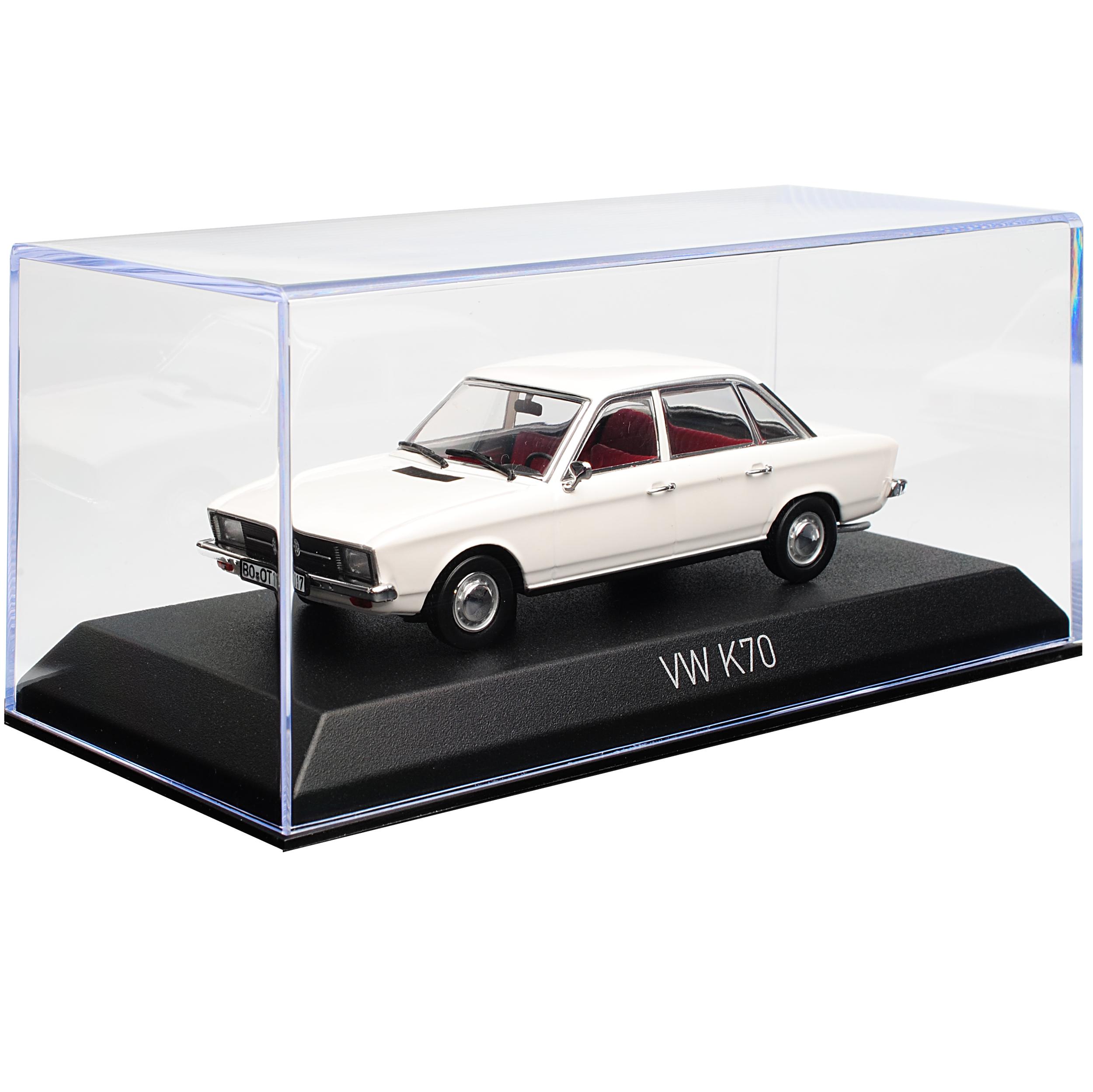 VW Volkswagen Volkswagen Volkswagen K70 Limousine Weiss 1970-1975 1 43 Norev Modell Auto mit oder oh.. 8f644b