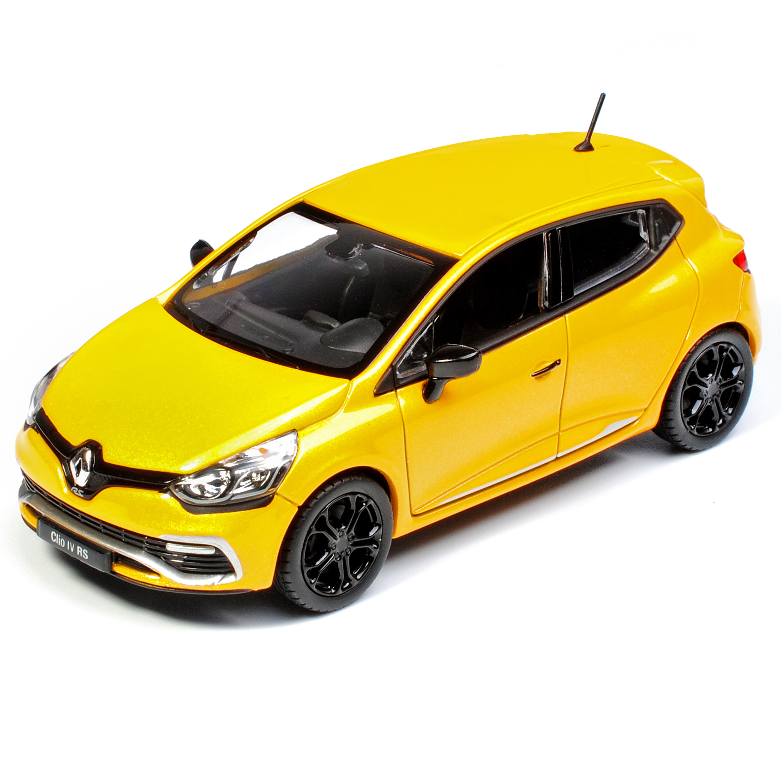 Reno Clio Sport: Renault Clio RS IV X98 Yellow 5 Door 4. Generation From