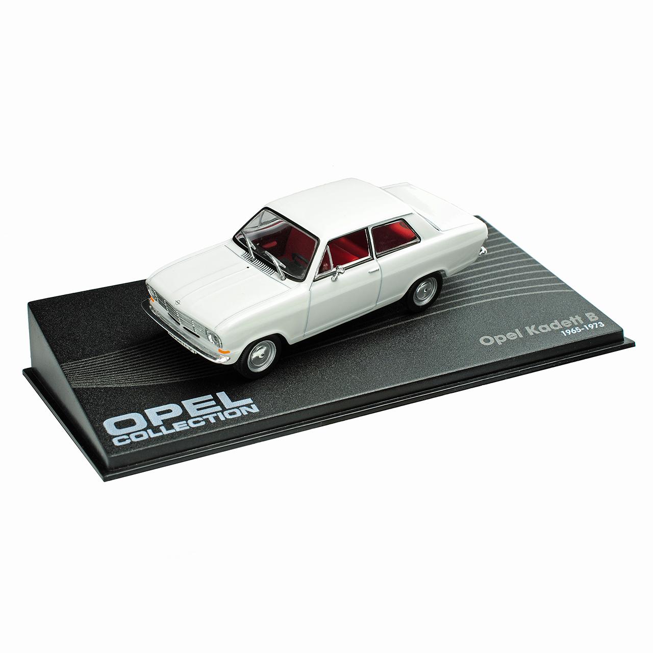 Opel Kadett B Coupe Limousine Weiss Weiss Weiss 1965-1973 Nr 52 1 43 Ixo Modell Auto mit o.. 2082dc