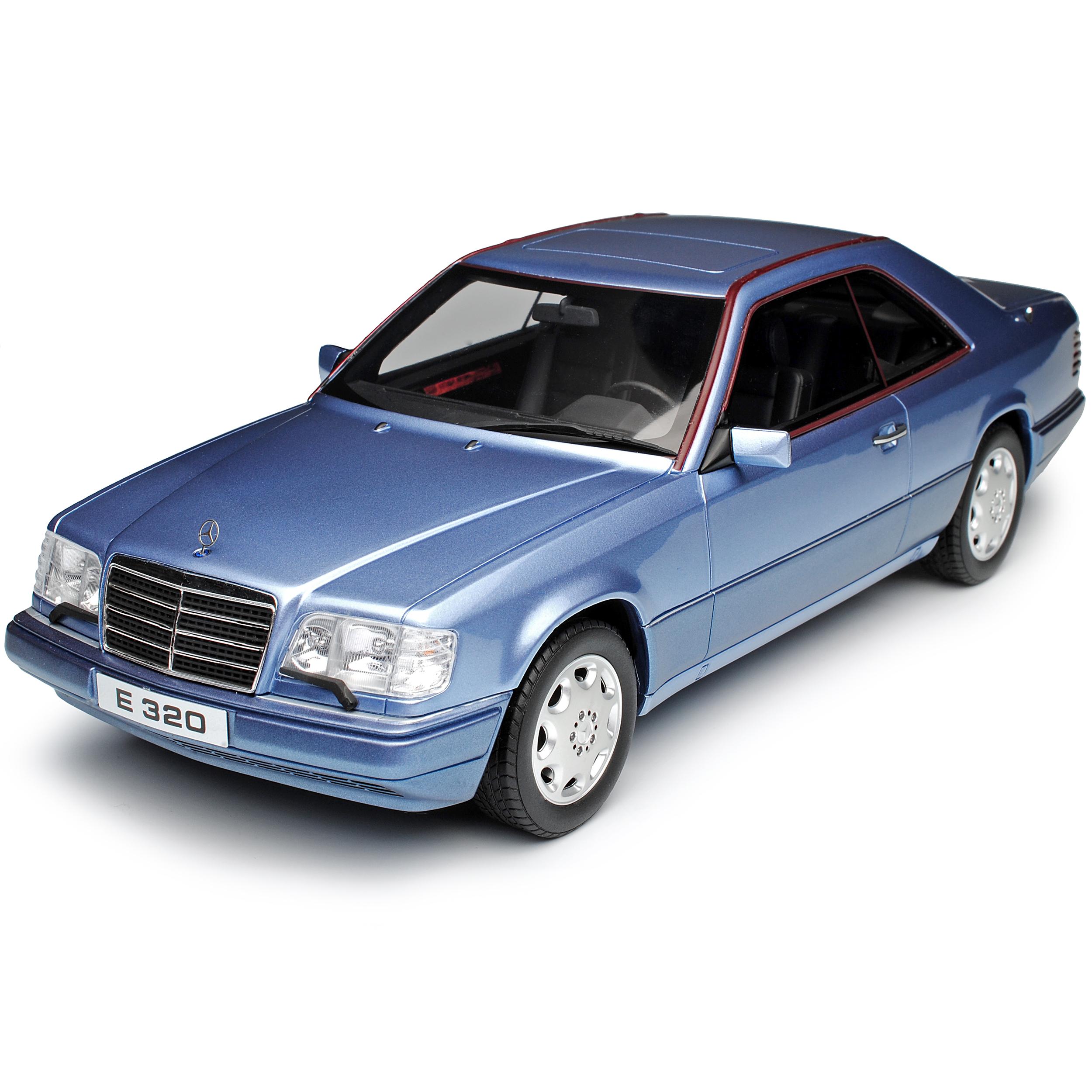 MERCEDES-BENZ CLASSE E E E e320 c124 Coupe Blu 1984-1997 nr 682 1 18 otto modello... d5eb43