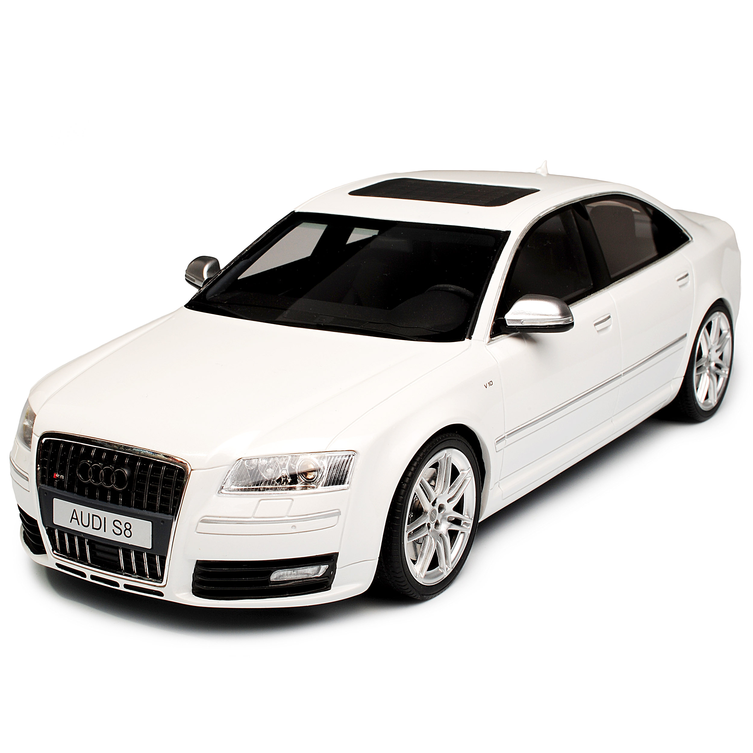 Audi A8 S8 D3 Weiss Limousine 2. Generation 2002-2010 Nr