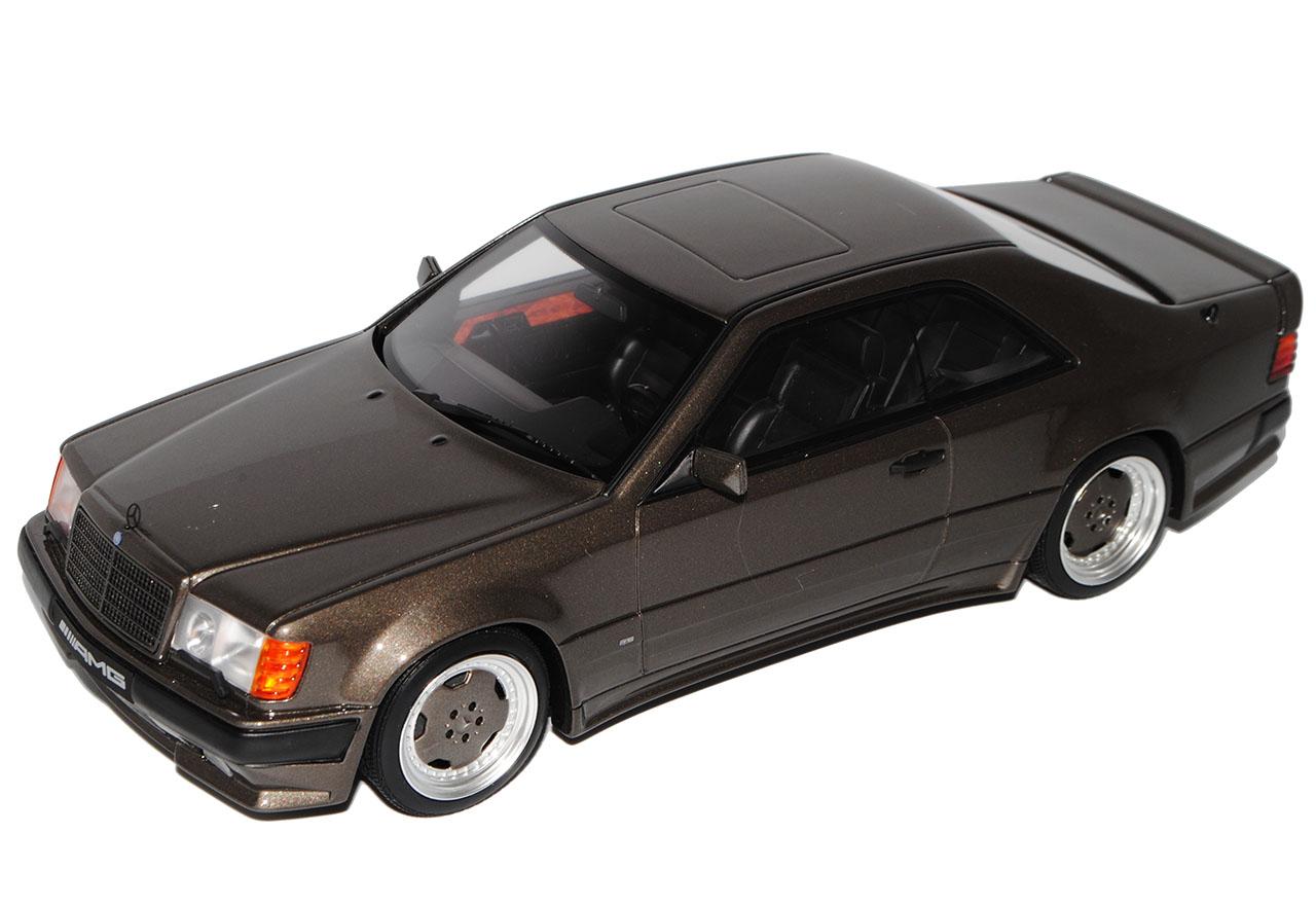 MERCEDES-BENZ CLASSE E c124 c124 c124 Wide Body AMG COUPE GRIGIO NERO 1984-1997 nr 704  5d7a7e