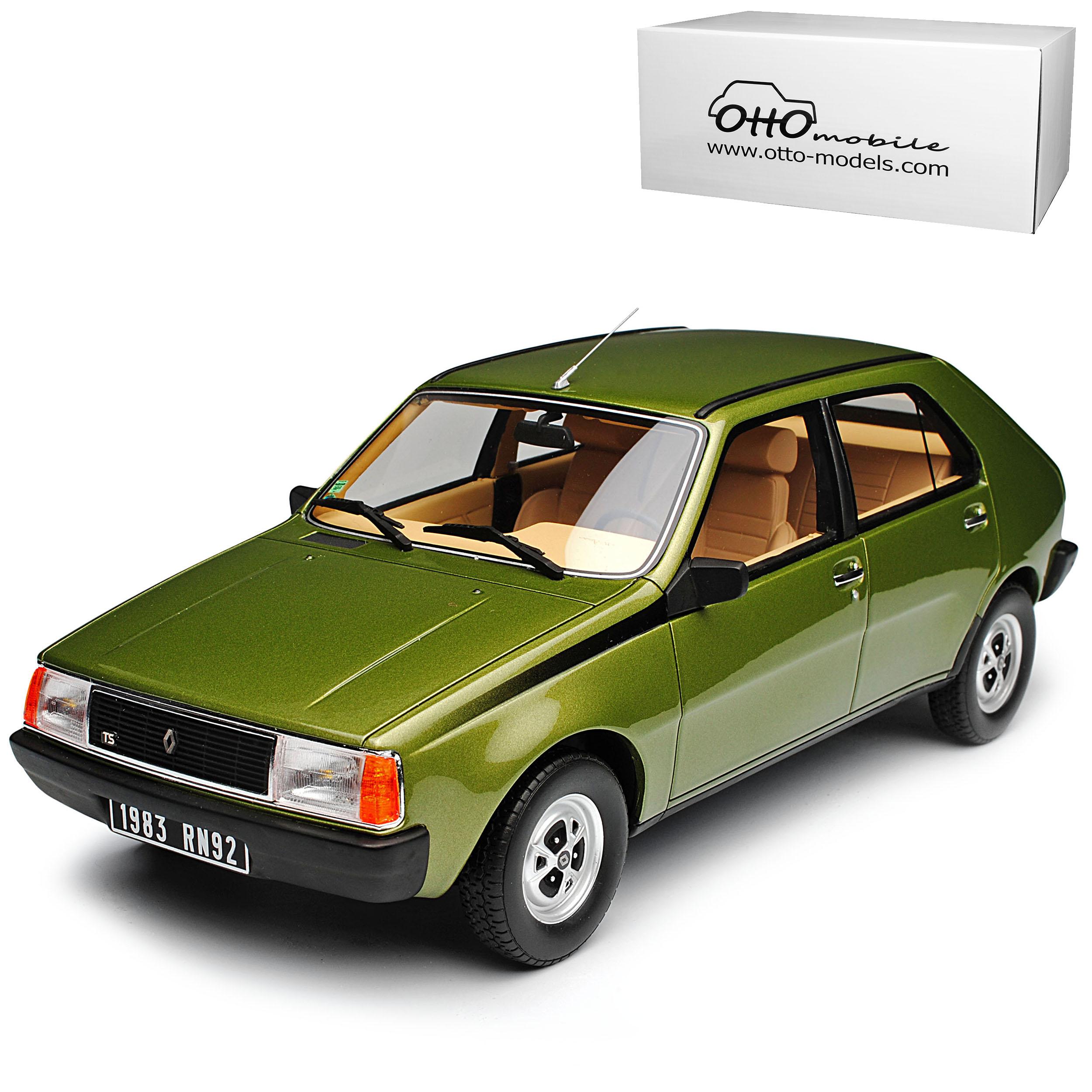 RENAULT r14 TS VERDE 1976-1982 1976-1982 1976-1982 nr 712 1/18 otto modello auto con o senza indiv  a0bf3f