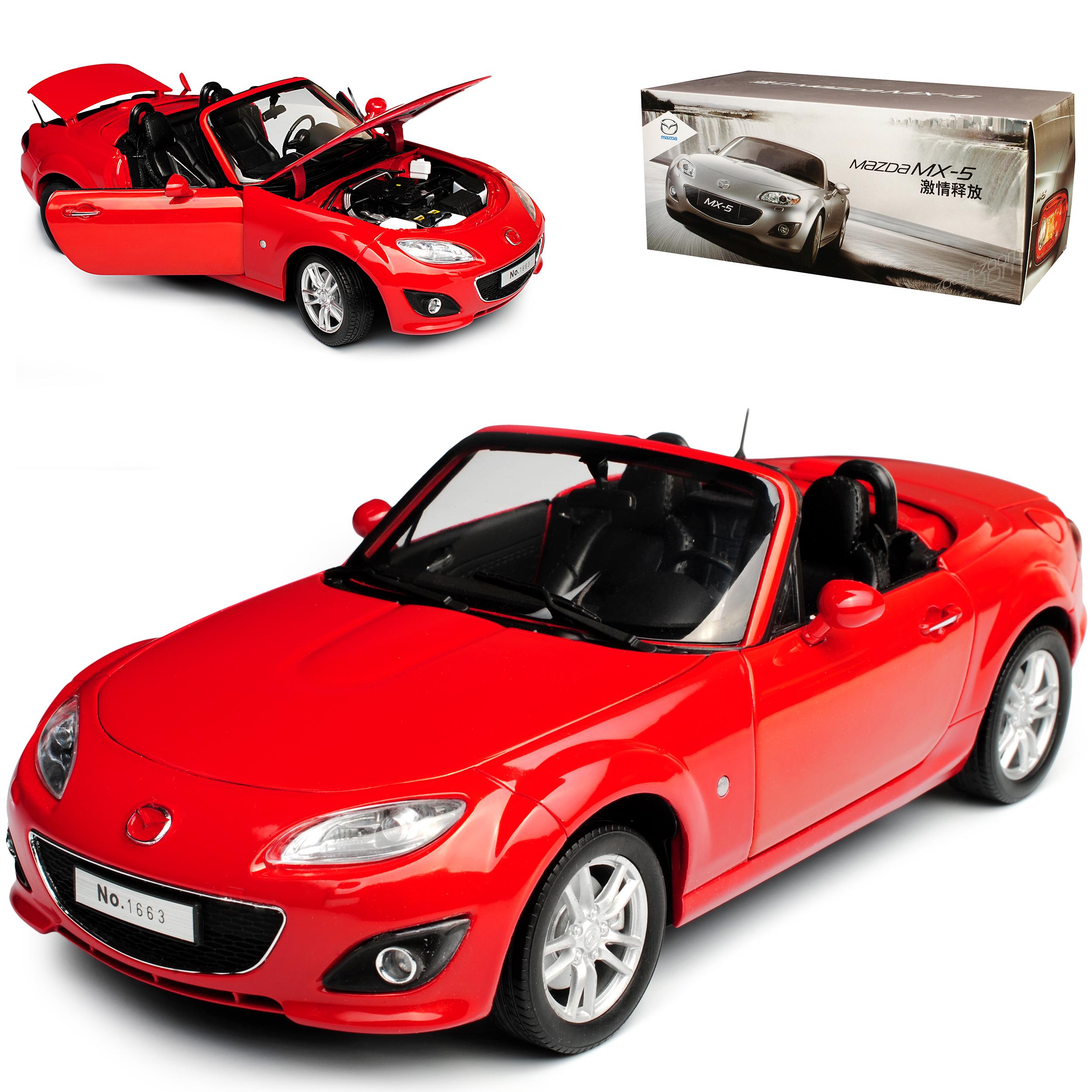 Mazda MX-5 NC Cabrio Rot 3. Generation 2005-2015 1/18