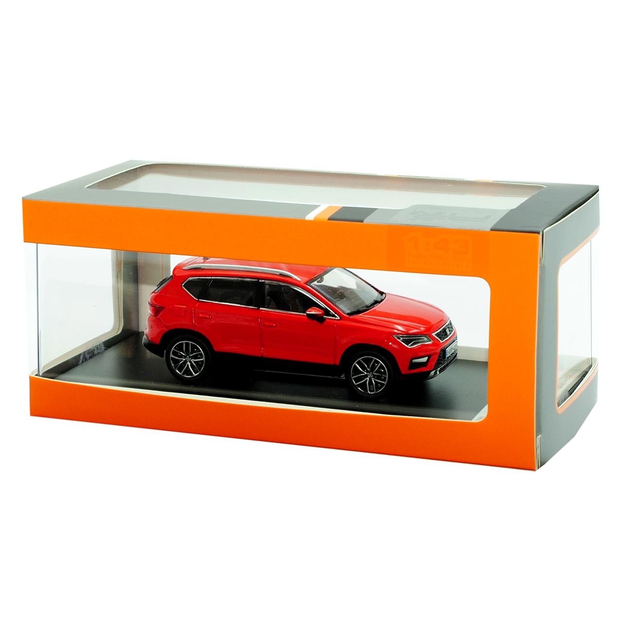seat ateca suv rot ab 2016 1 43 43 43 premiumx modell auto. Black Bedroom Furniture Sets. Home Design Ideas
