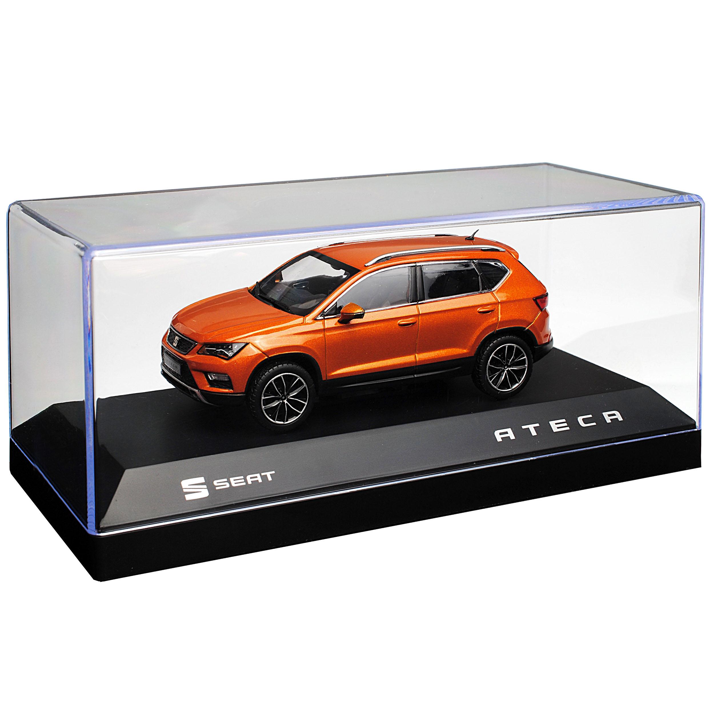 Seat Ateca SUV Samoa Orange Orange Orange Ab 2016 1 43 PremiumX Modell Auto mit oder ohne in.. 06b035